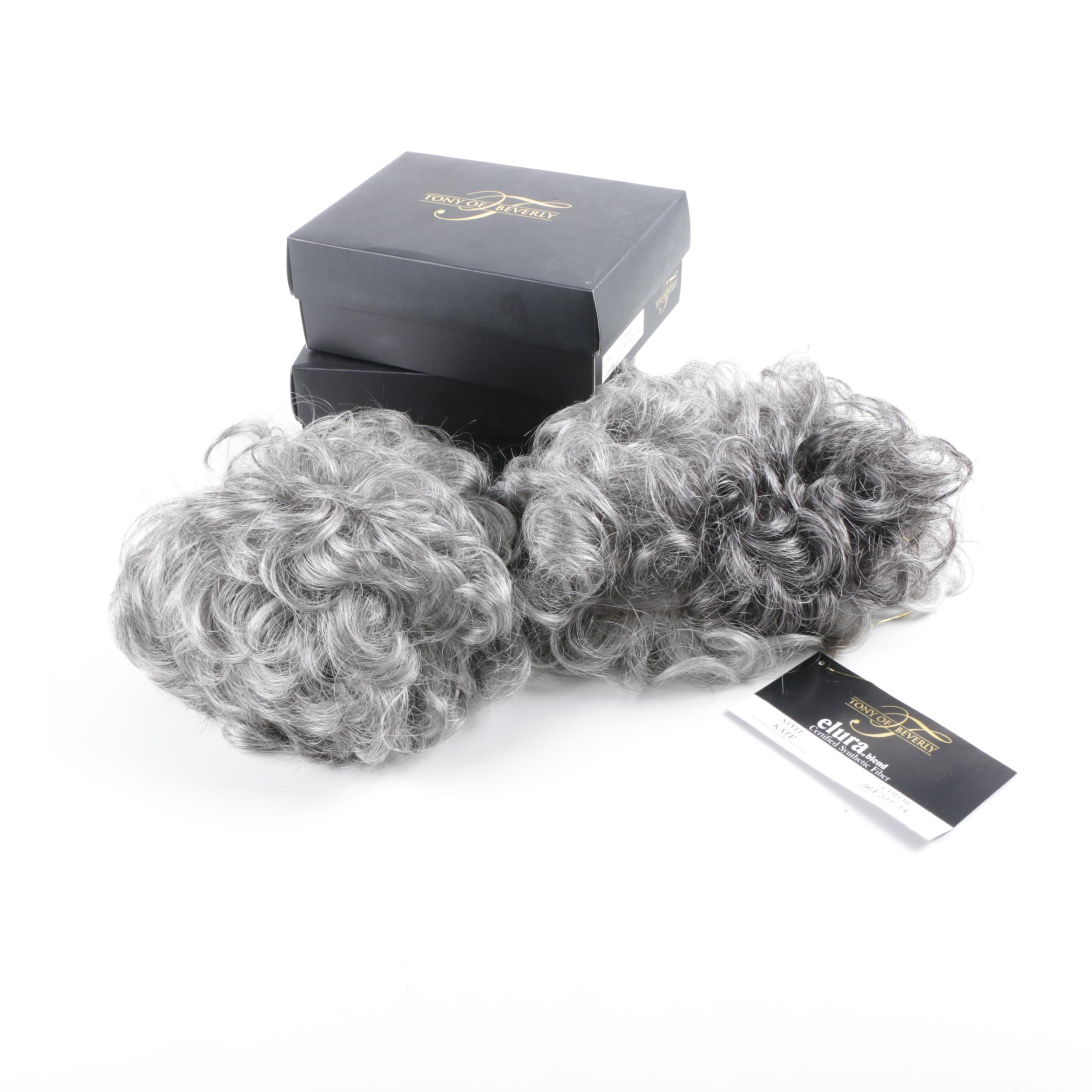 Tony of Beverly Elura Blend Short Gray Wigs