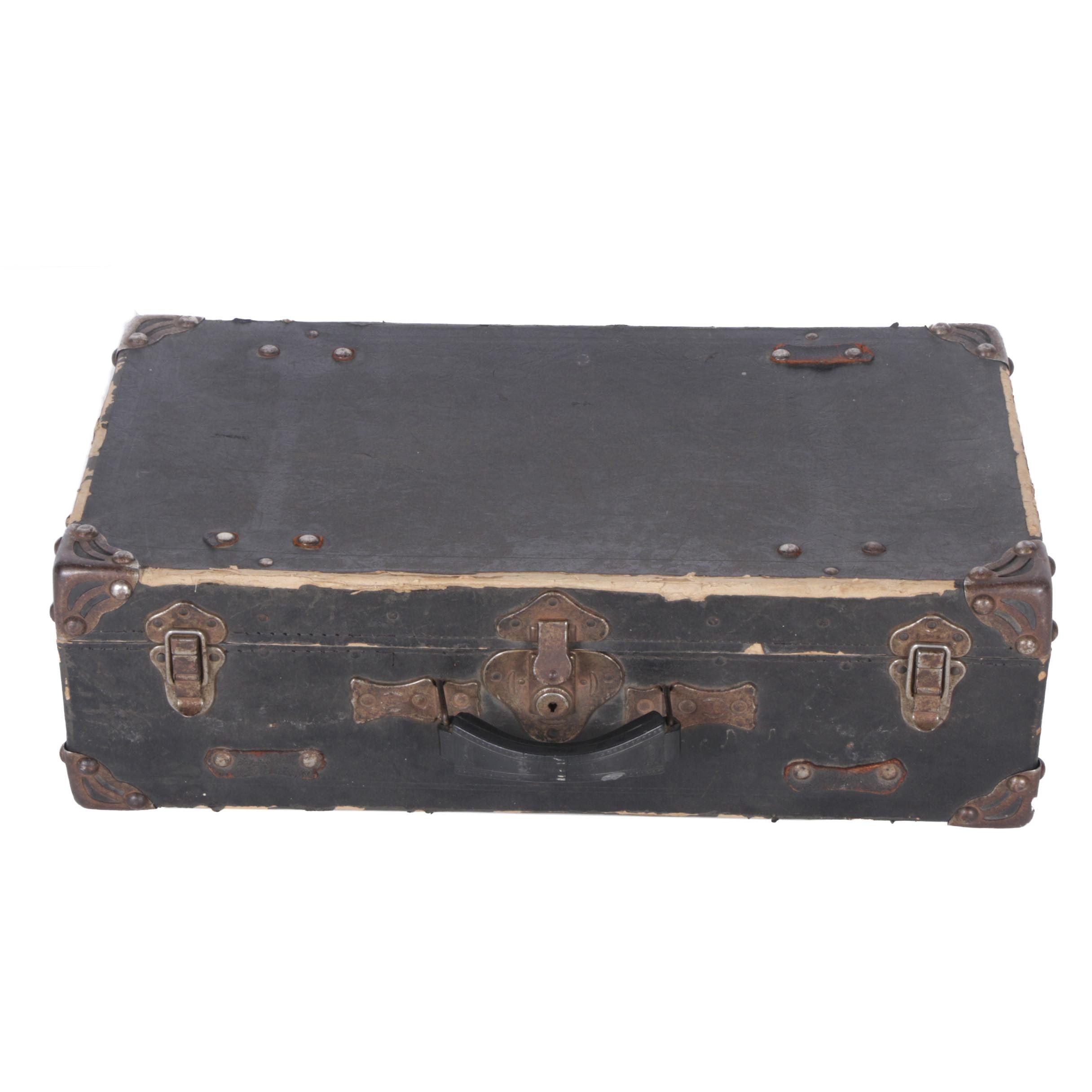"Vintage ""Samson"" Luggage Trunk by Shwayder Trunk Mfg. Co."