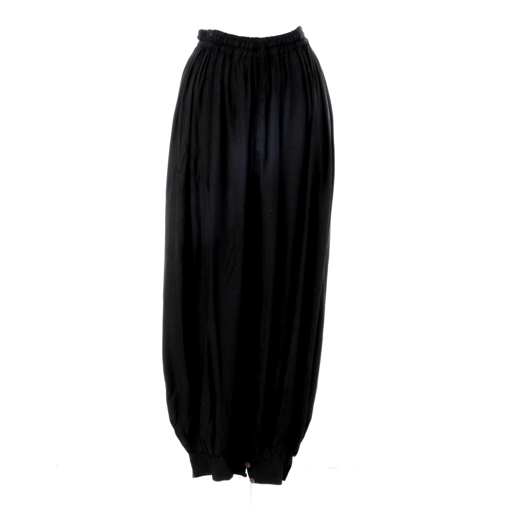 Women's Aller Simplement Black Harem Pants