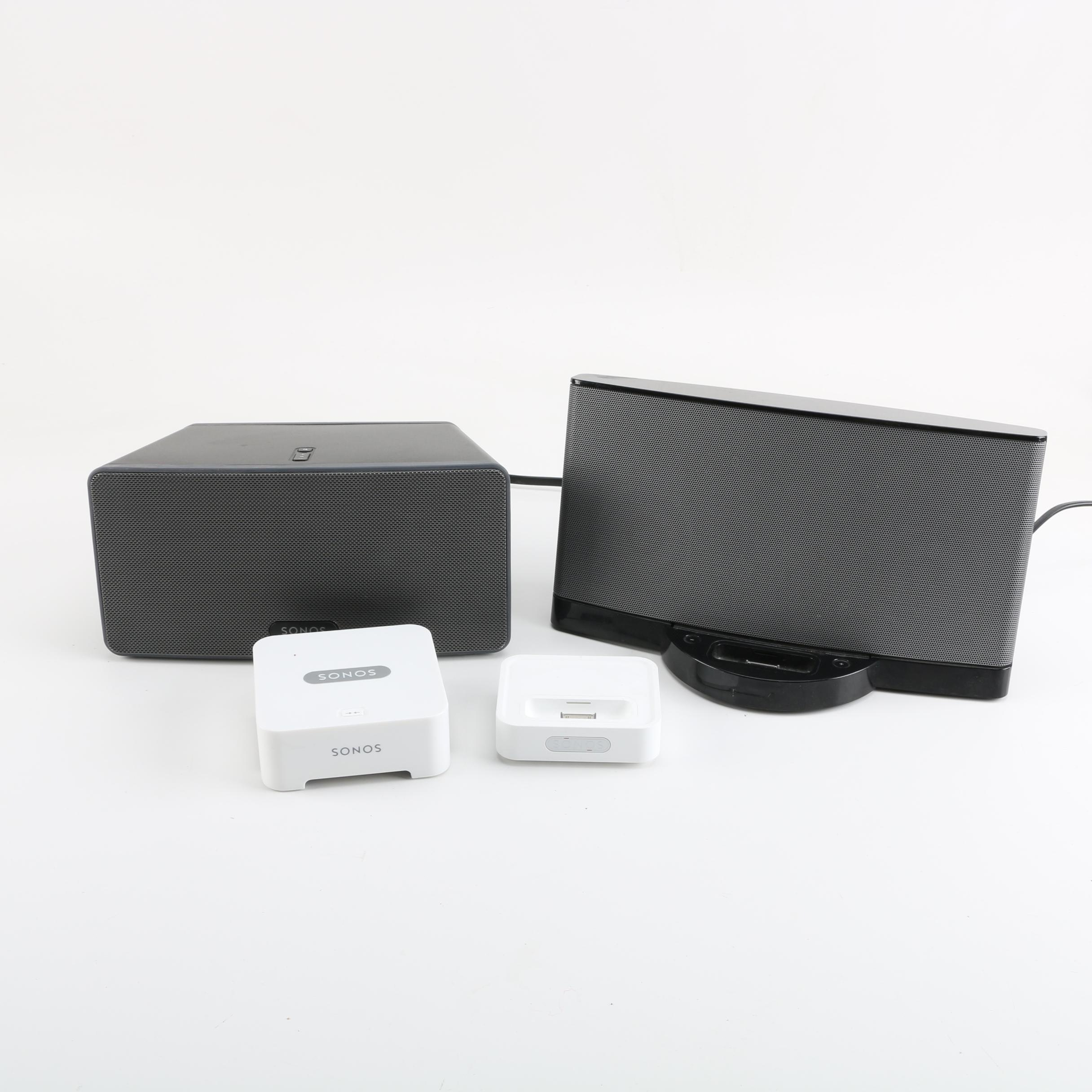 Sonos Wireless iPod System and Bose SoundDock Series 2