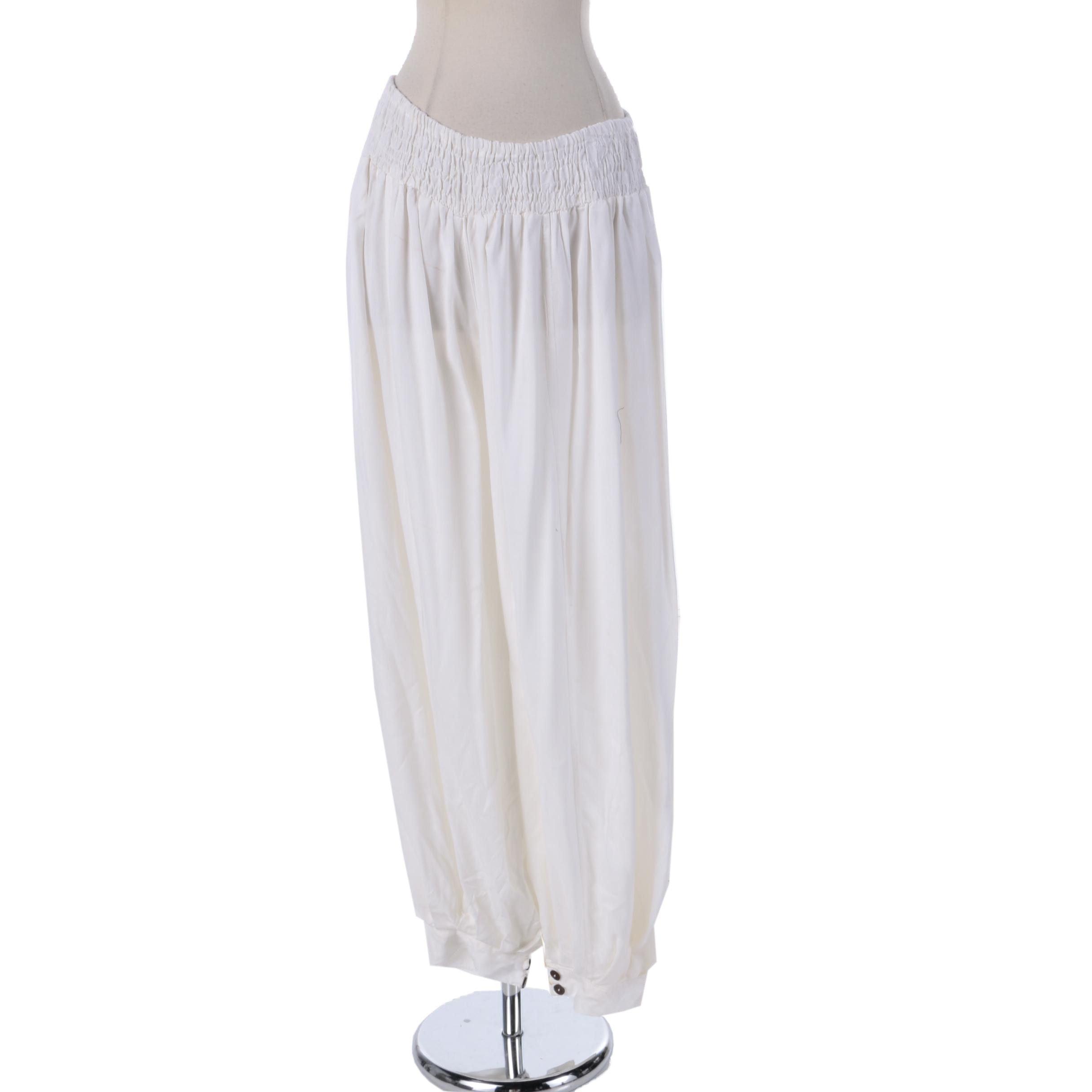Women's Aller Simplement Off-White Harem Pants