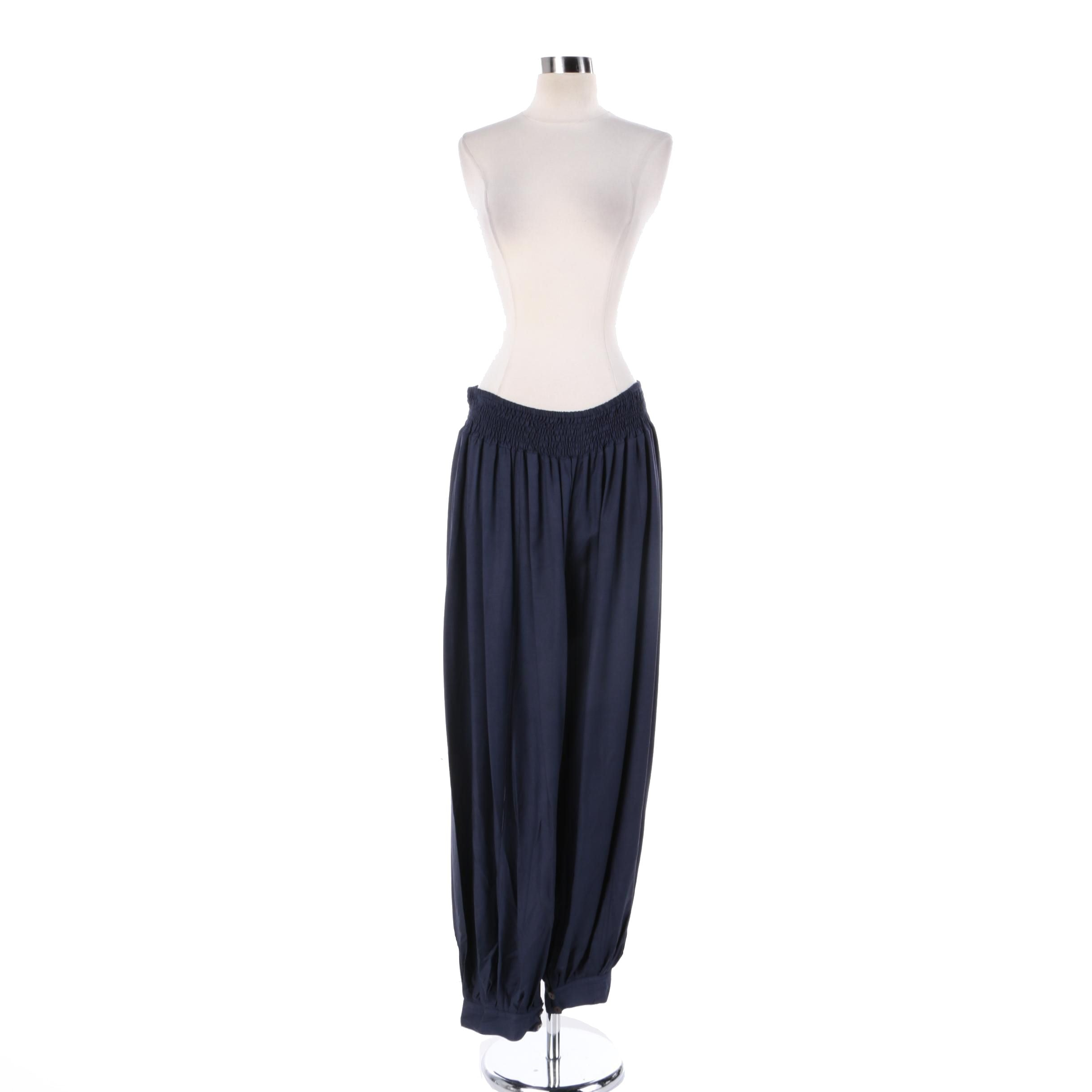 Women's Aller Simplement Navy Harem Pants