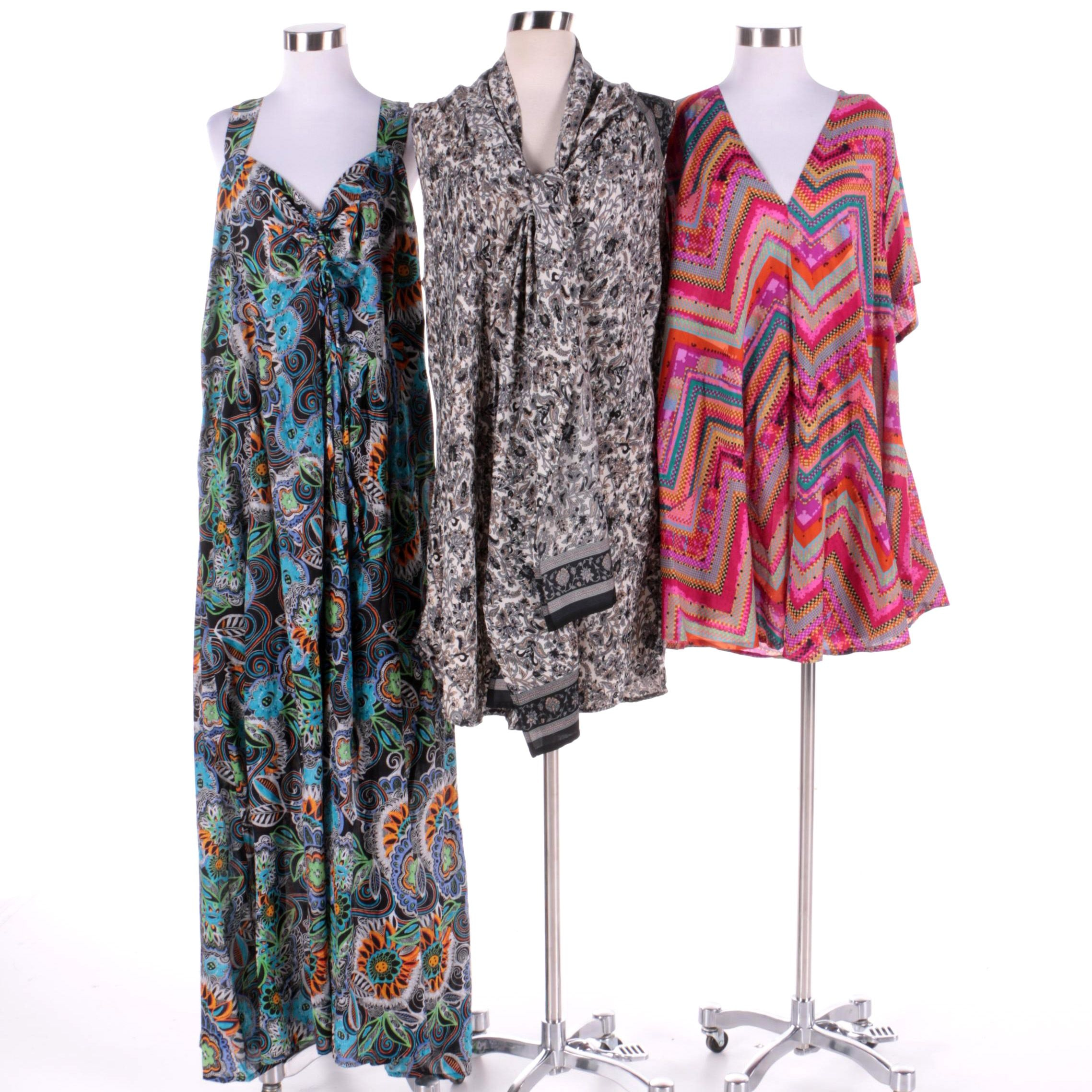 Women's Aller Simplement Casual Summer Maxi and Tunics