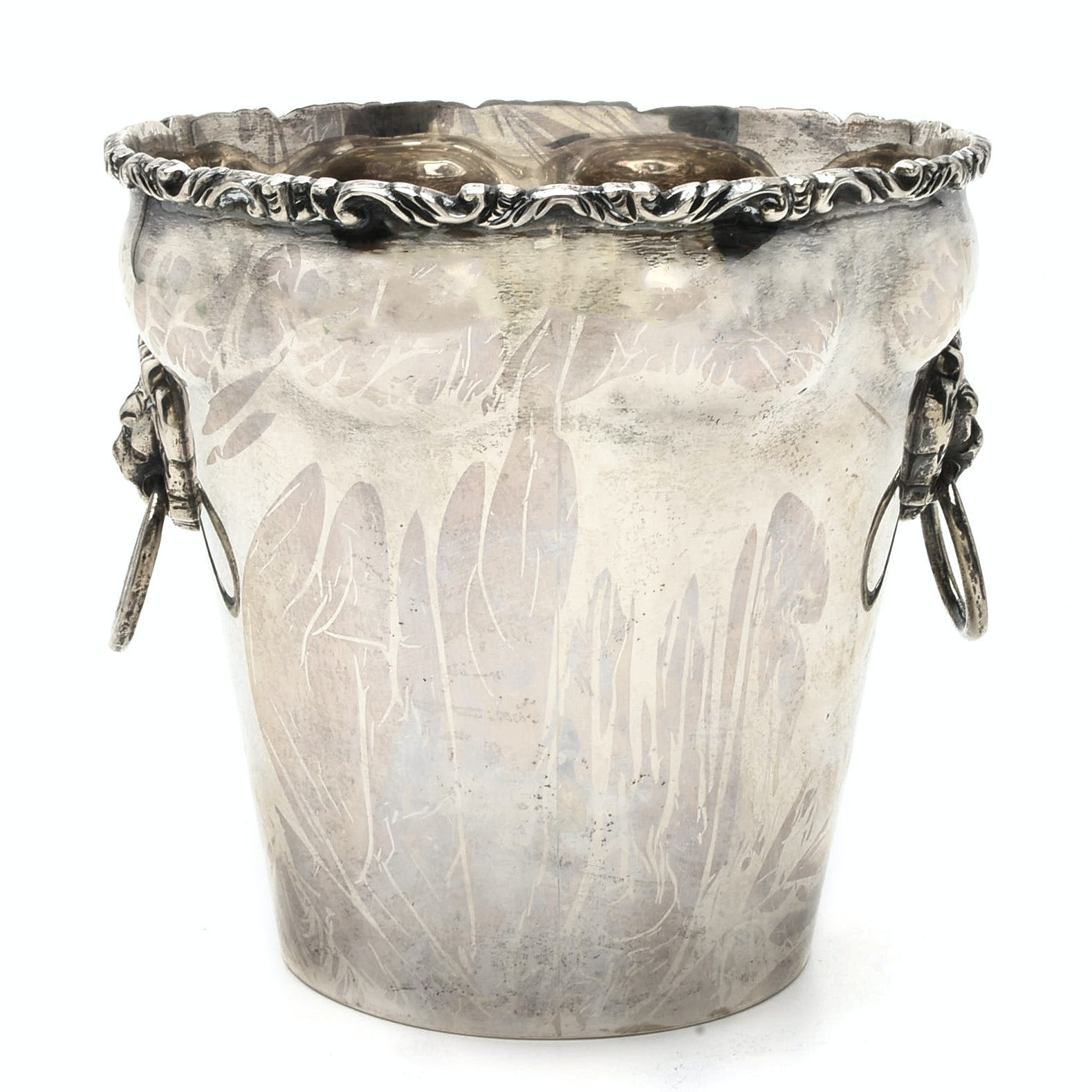 Torres Vega Mexcian Sterling Silver Ice Bucket