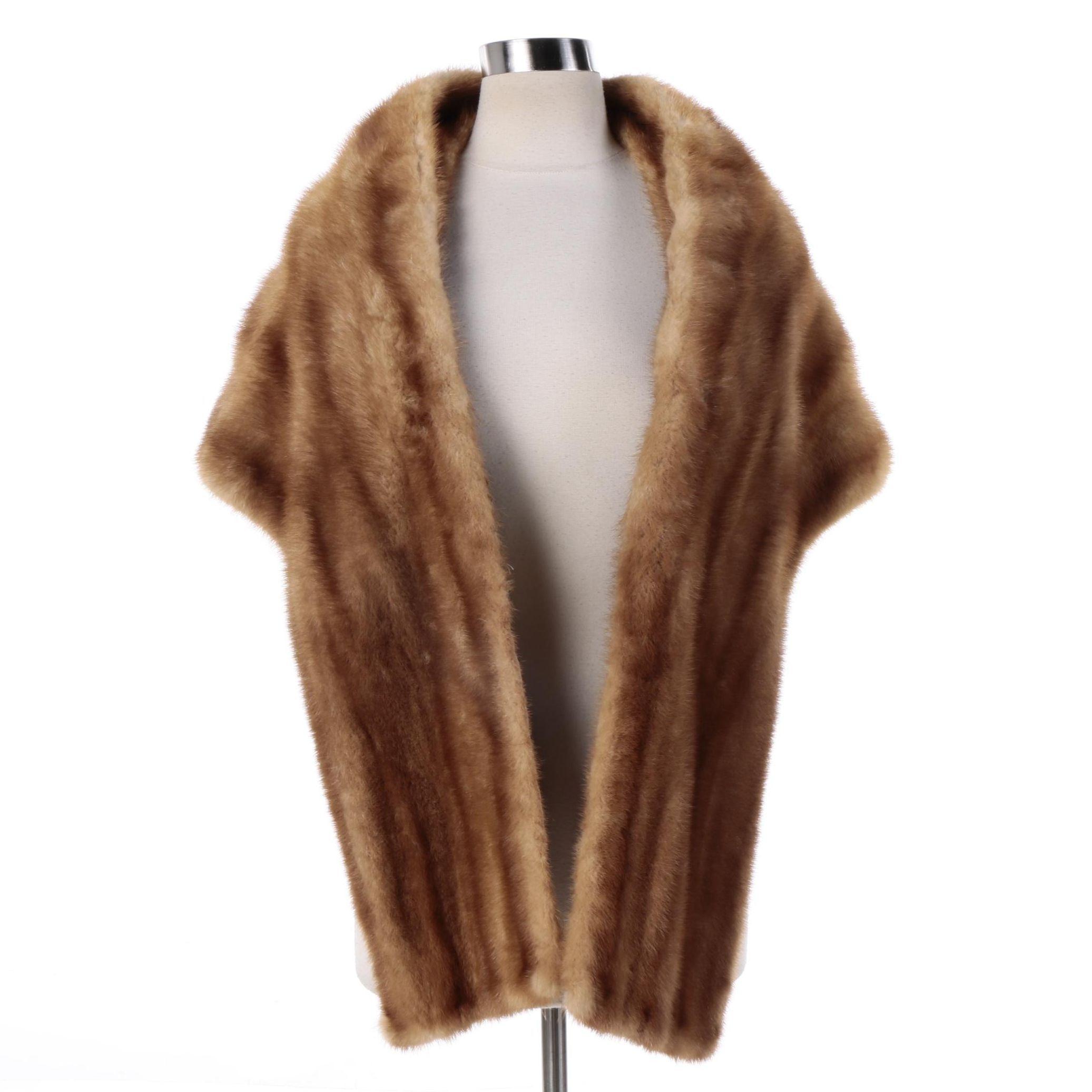 Women's Vintage Eaton's of Canada Mink Fur Stole