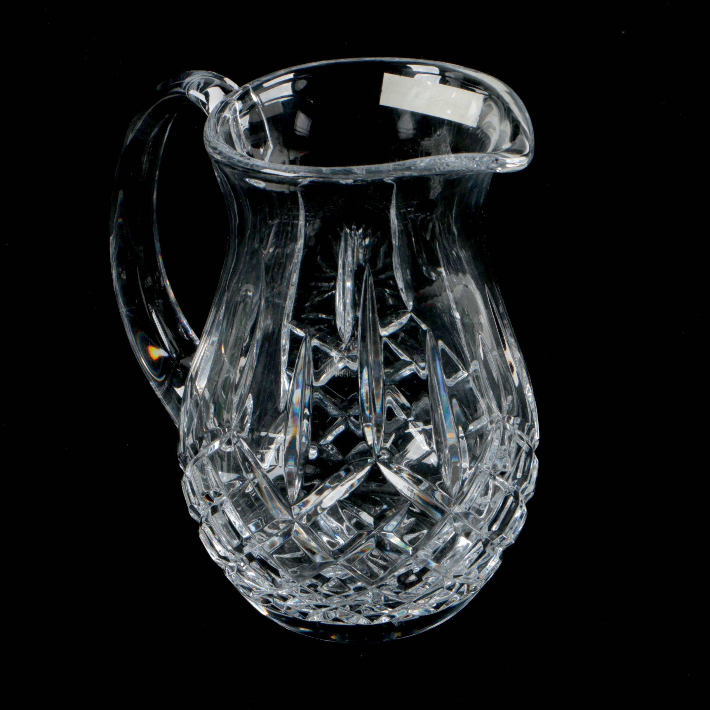 "Waterford Crystal ""Lismore"" Pitcher"