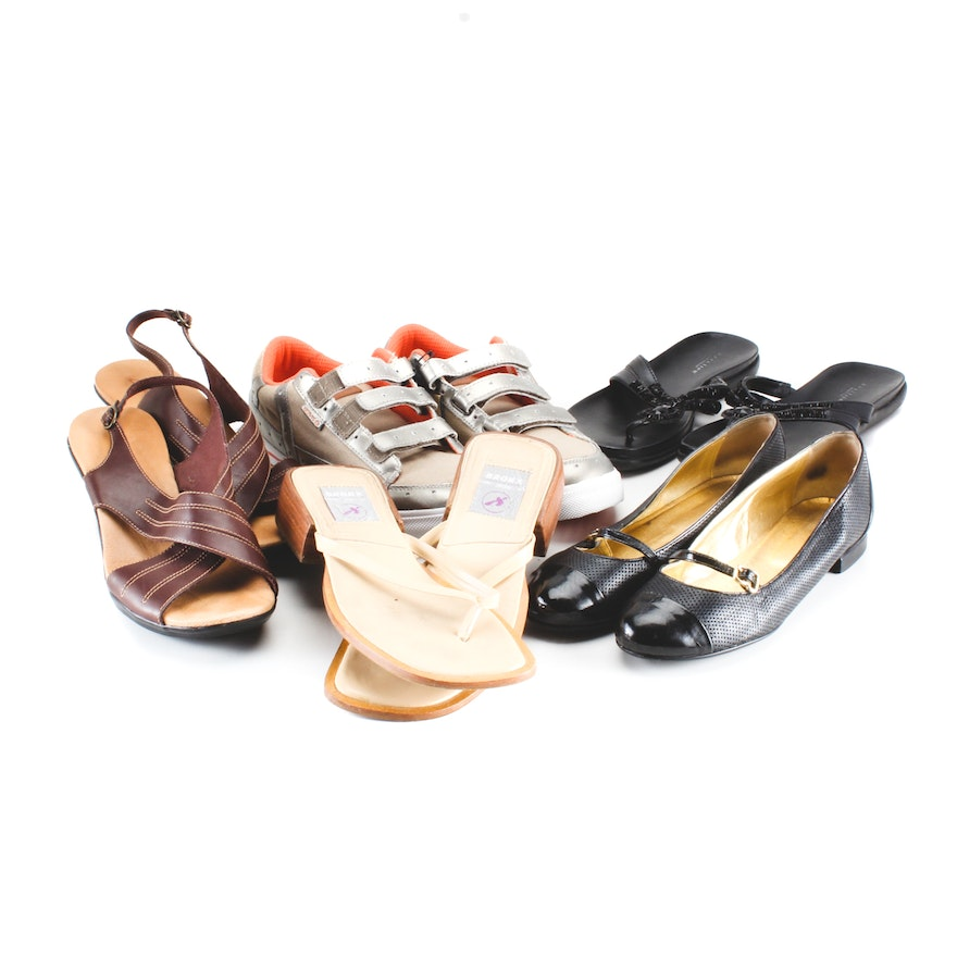 cd38d4c35 Group of Women s Shoes and Sandals Including Clarks   EBTH