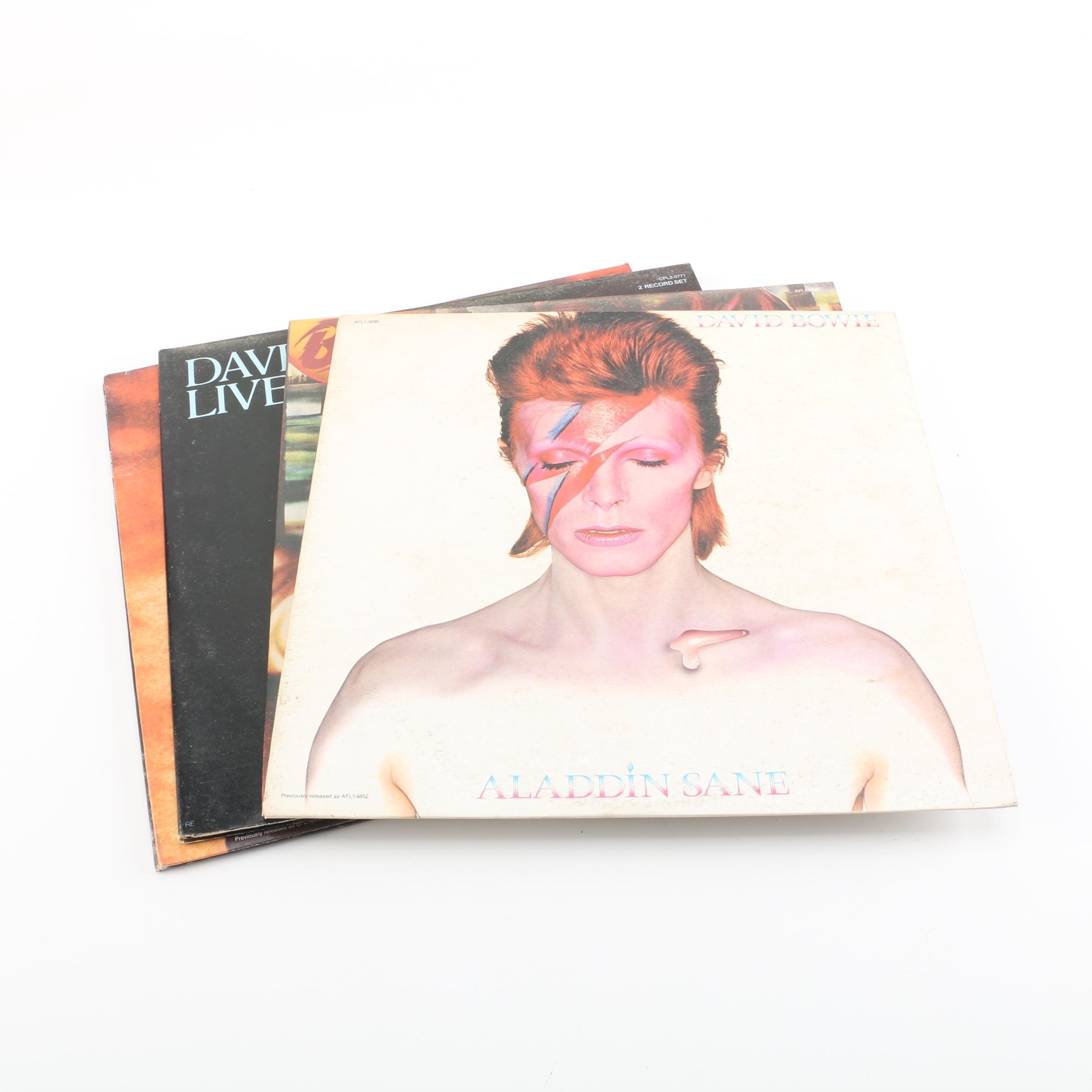 """Low"", ""Diamond Dogs"" Vintage David Bowie Records"