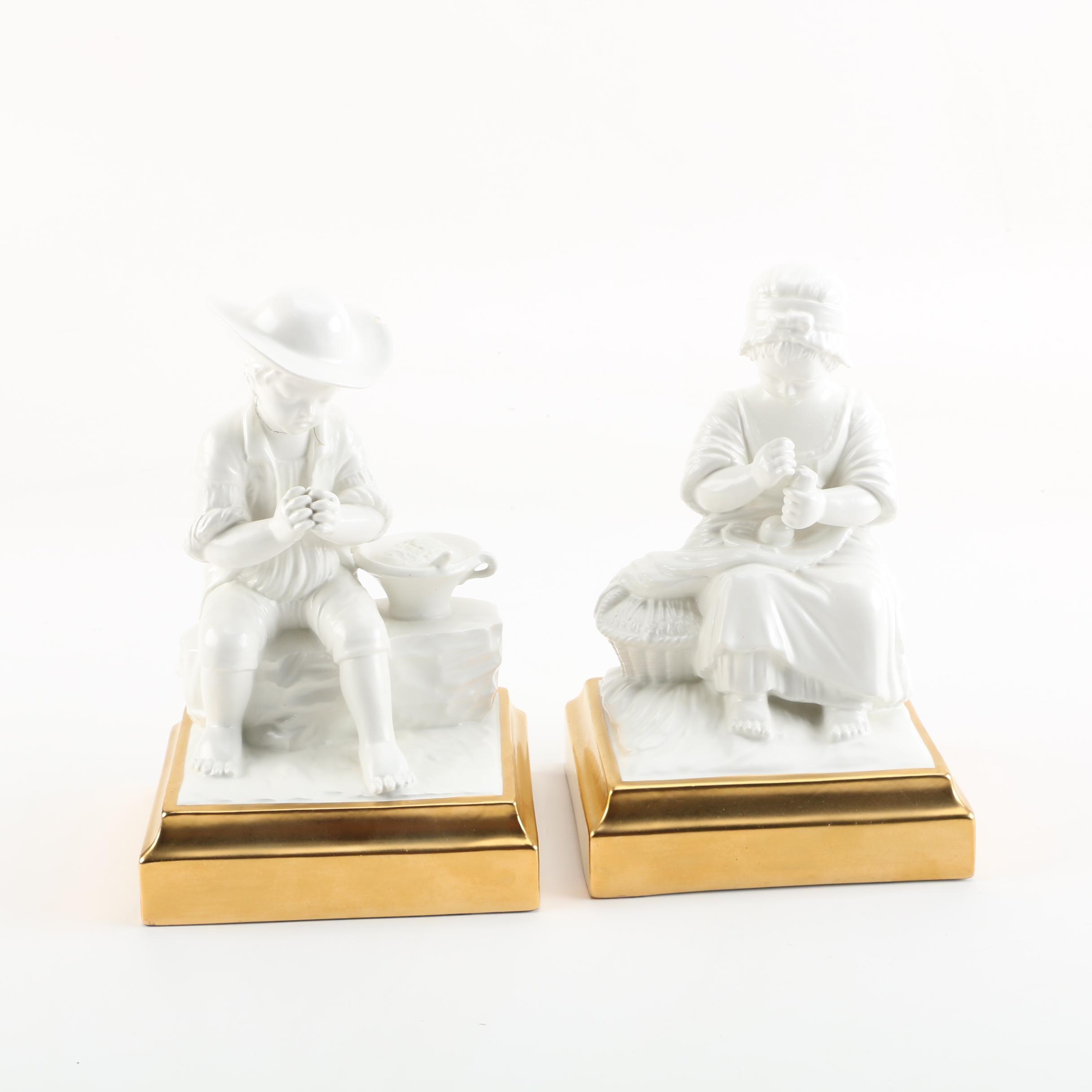 Mottahedeh Porcelain Figurines