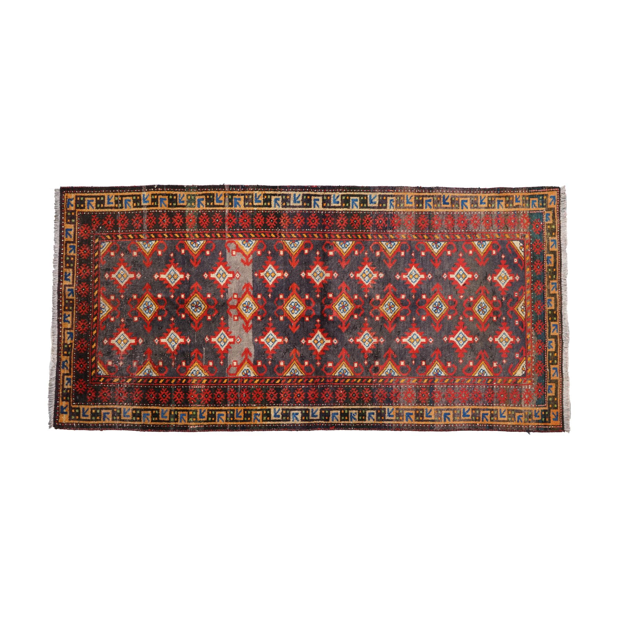 Hand-Knotted Anatolian Wool Area Rug