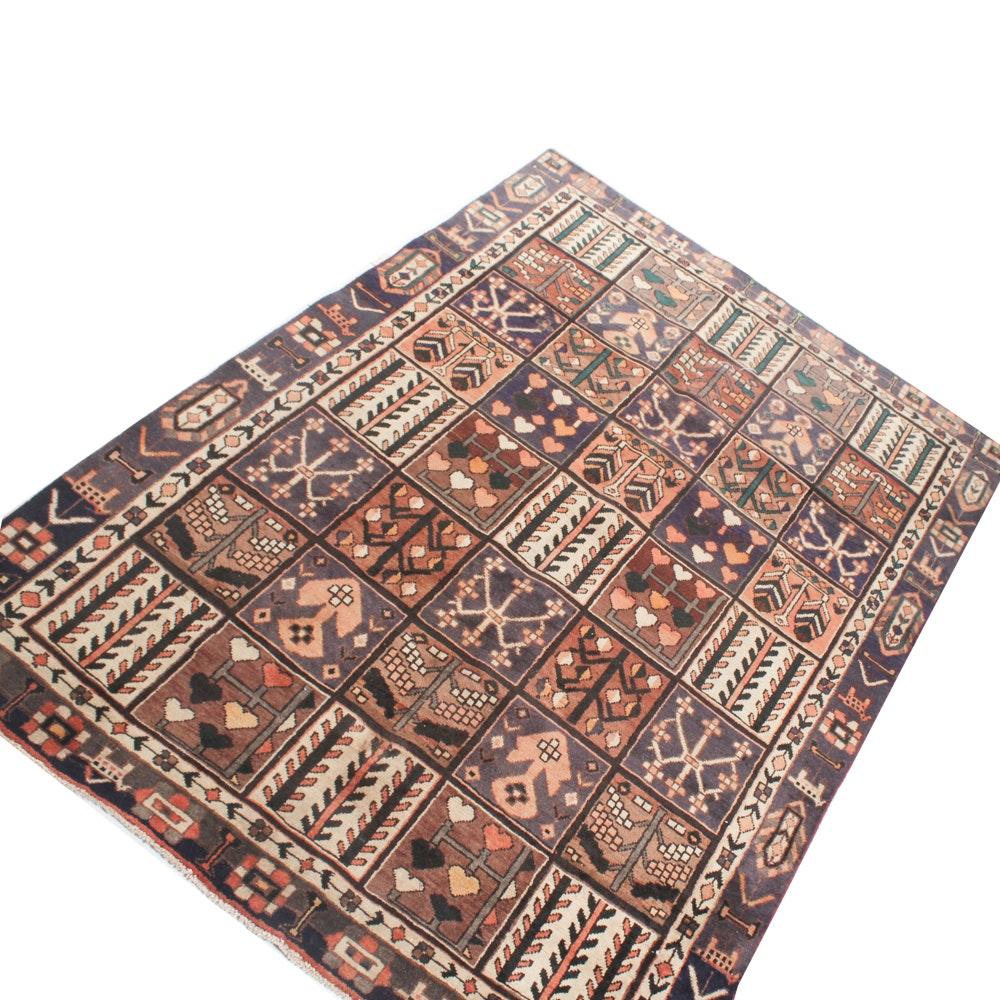 6' x 9' Hand-Knotted Persian Bakhtiari Rug