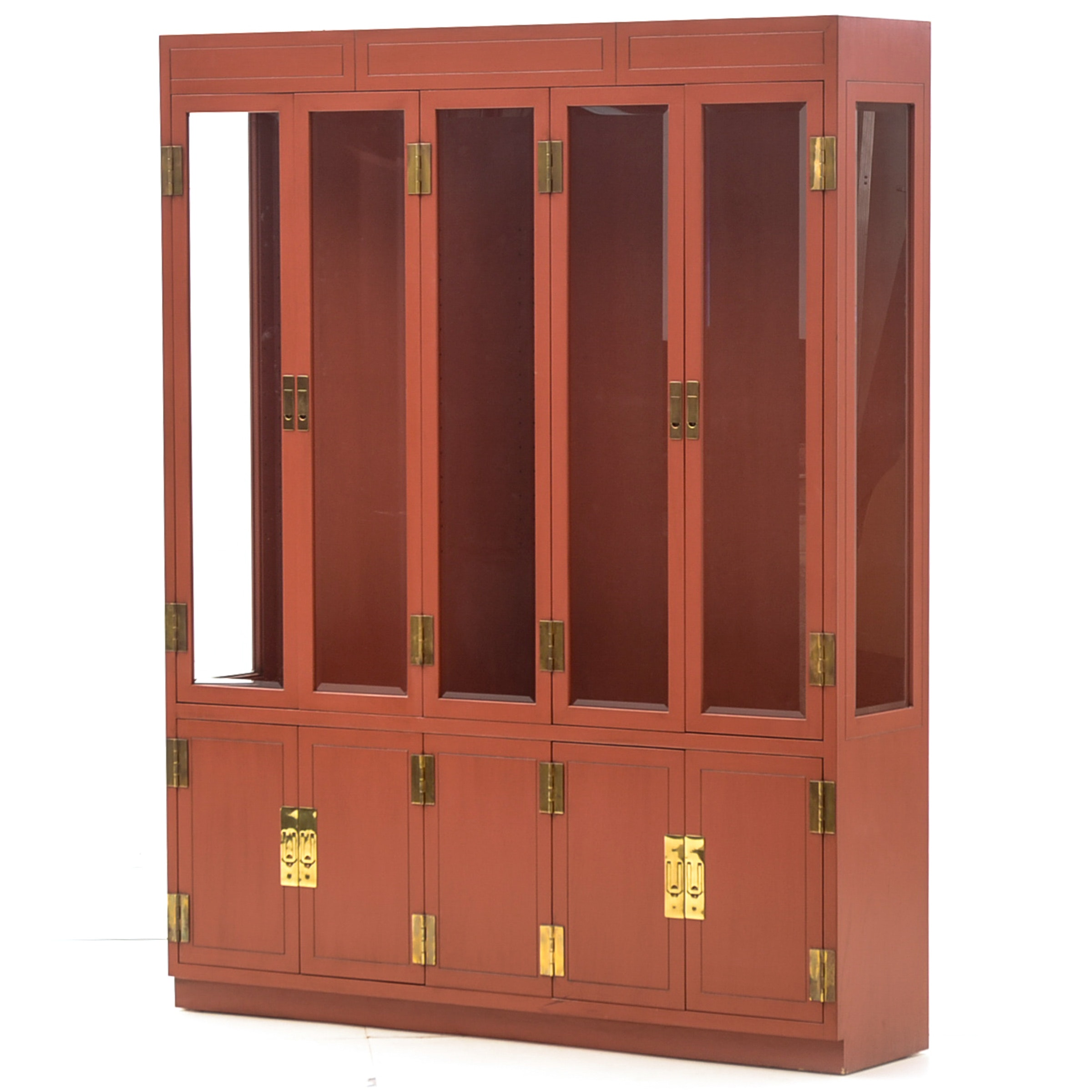 Henredon Chinese Inspired Display Cabinet