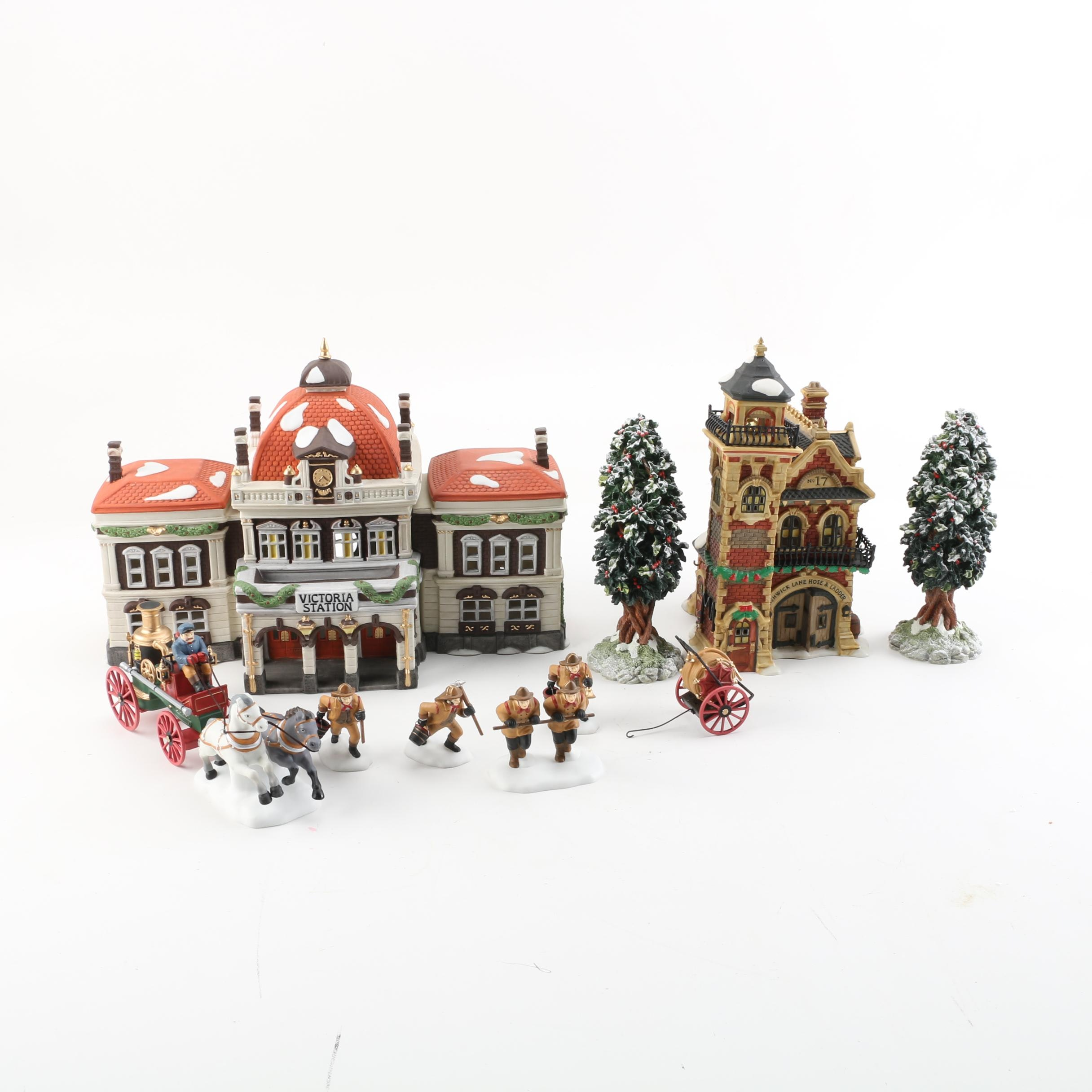 "Department 56 ""Dickens' Village Series"" Decor Pieces"