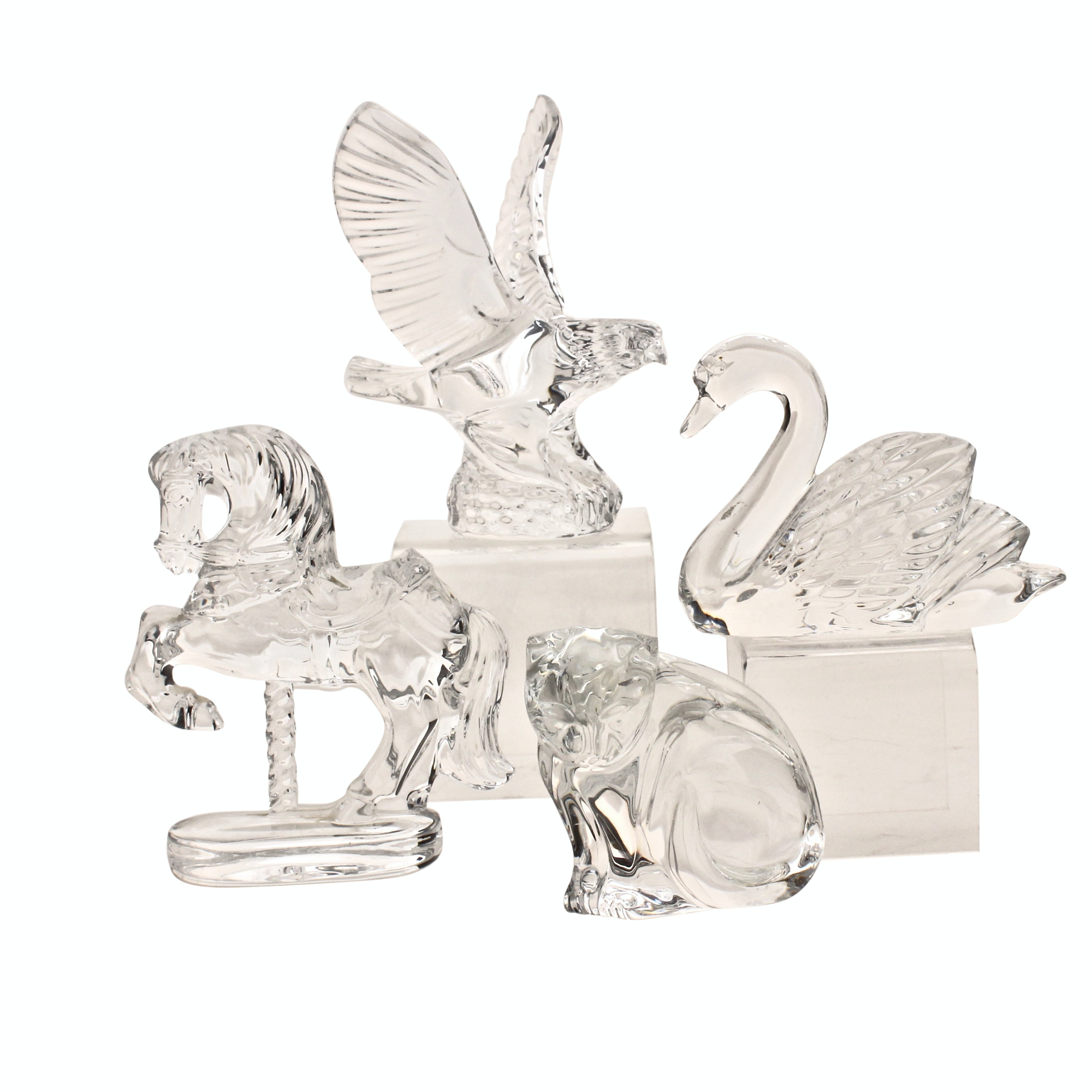Waterford Crystal Animal Figurines