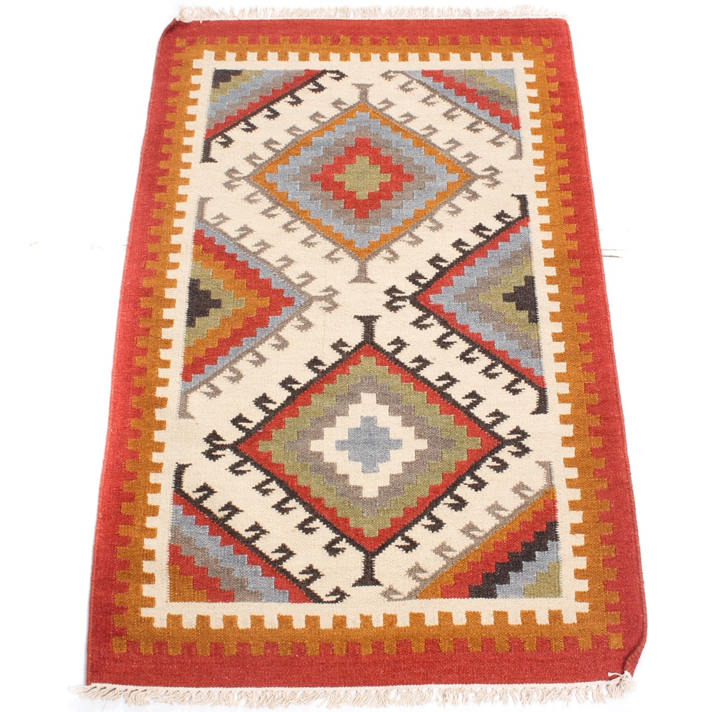 3' x 5' Handwoven Turkish Kilim