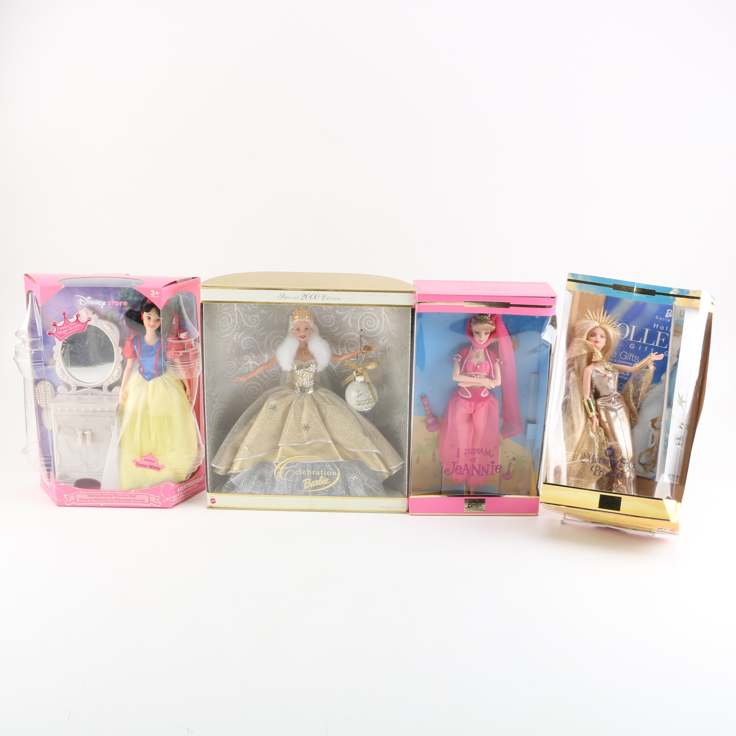 """""""I Dream of Jeannie"""" and Collectors' Edition Barbies"""