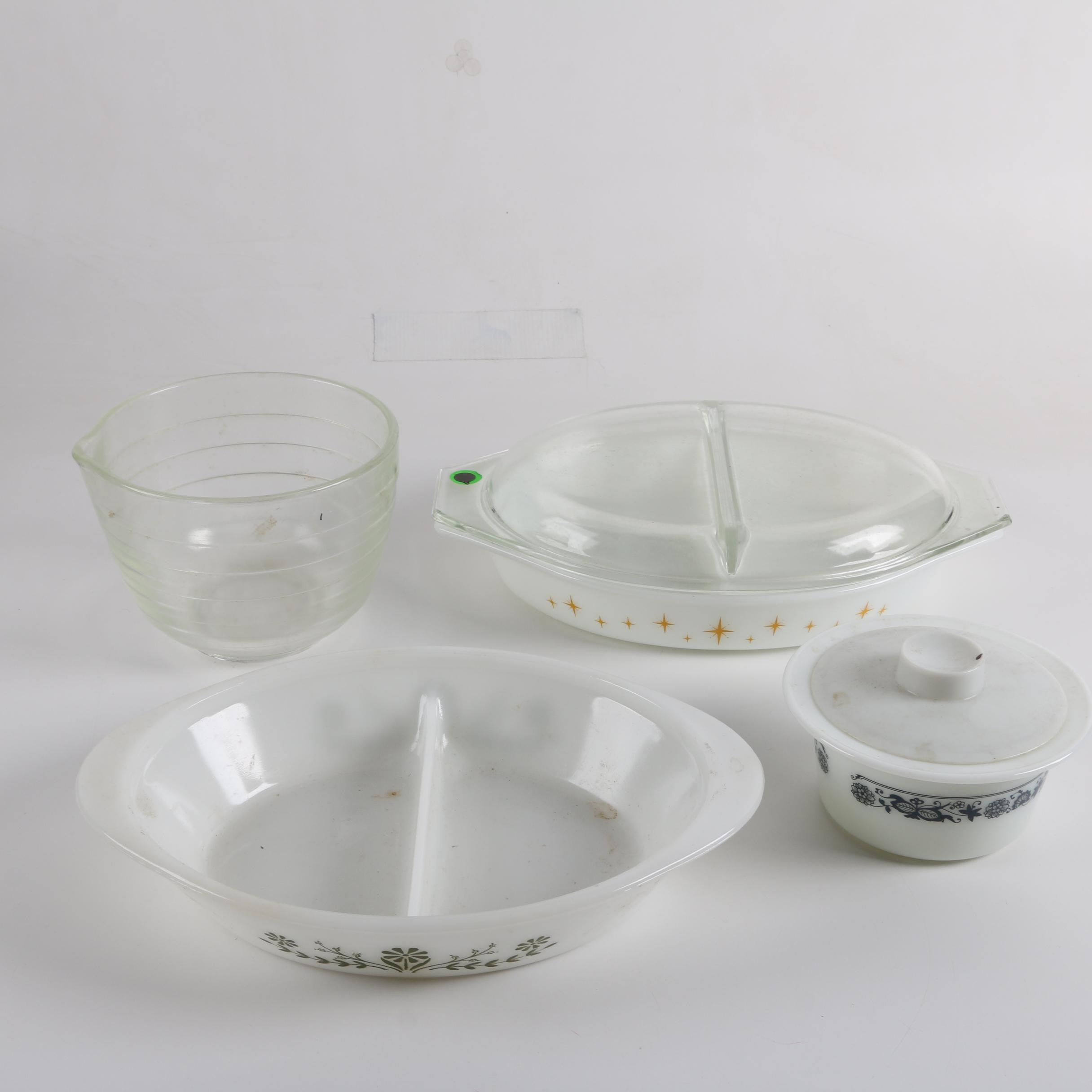 Serving Bowls Including Glasbake
