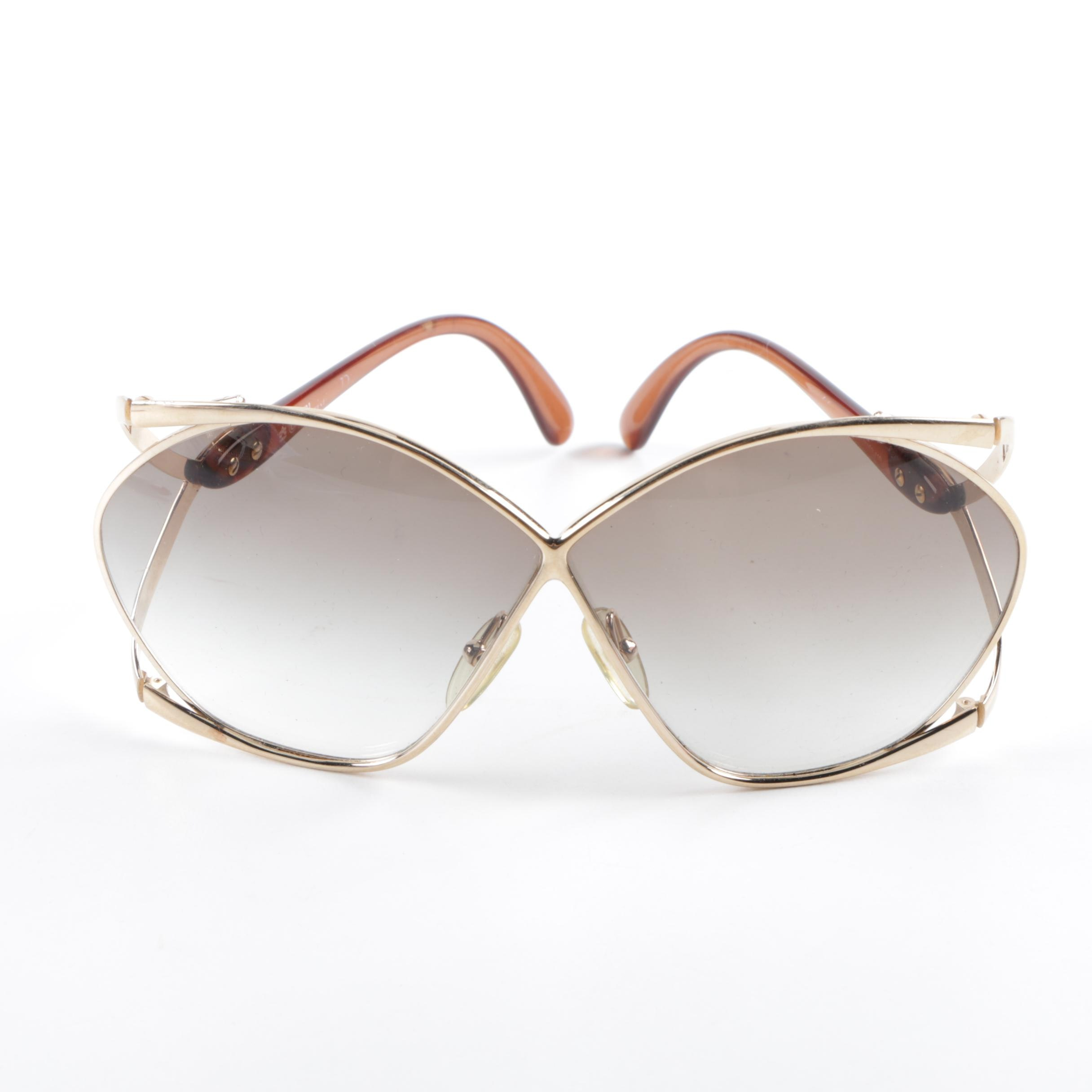 1990s Christian Dior Butterfly Sunglasses