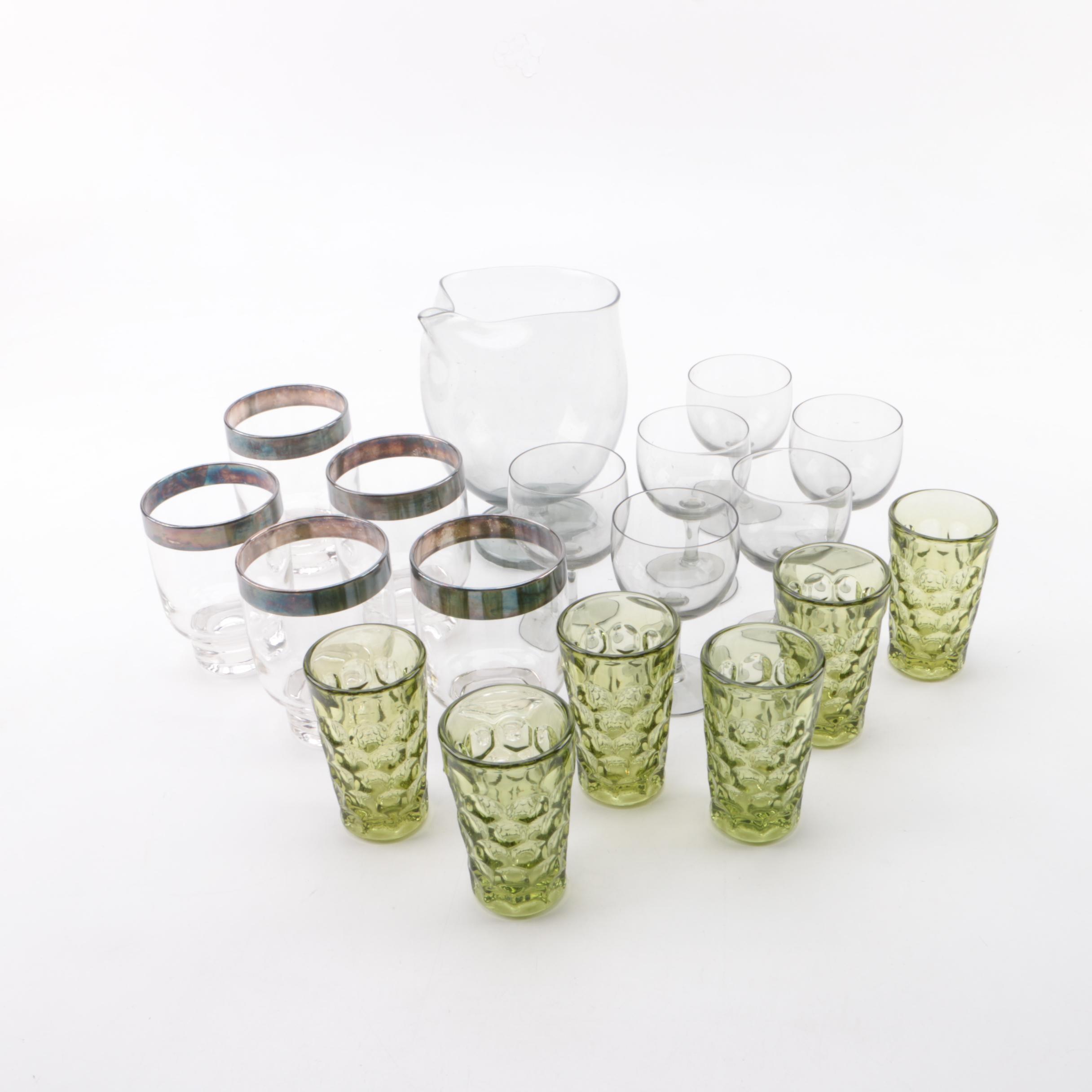 Mid-Century Modern Glassware