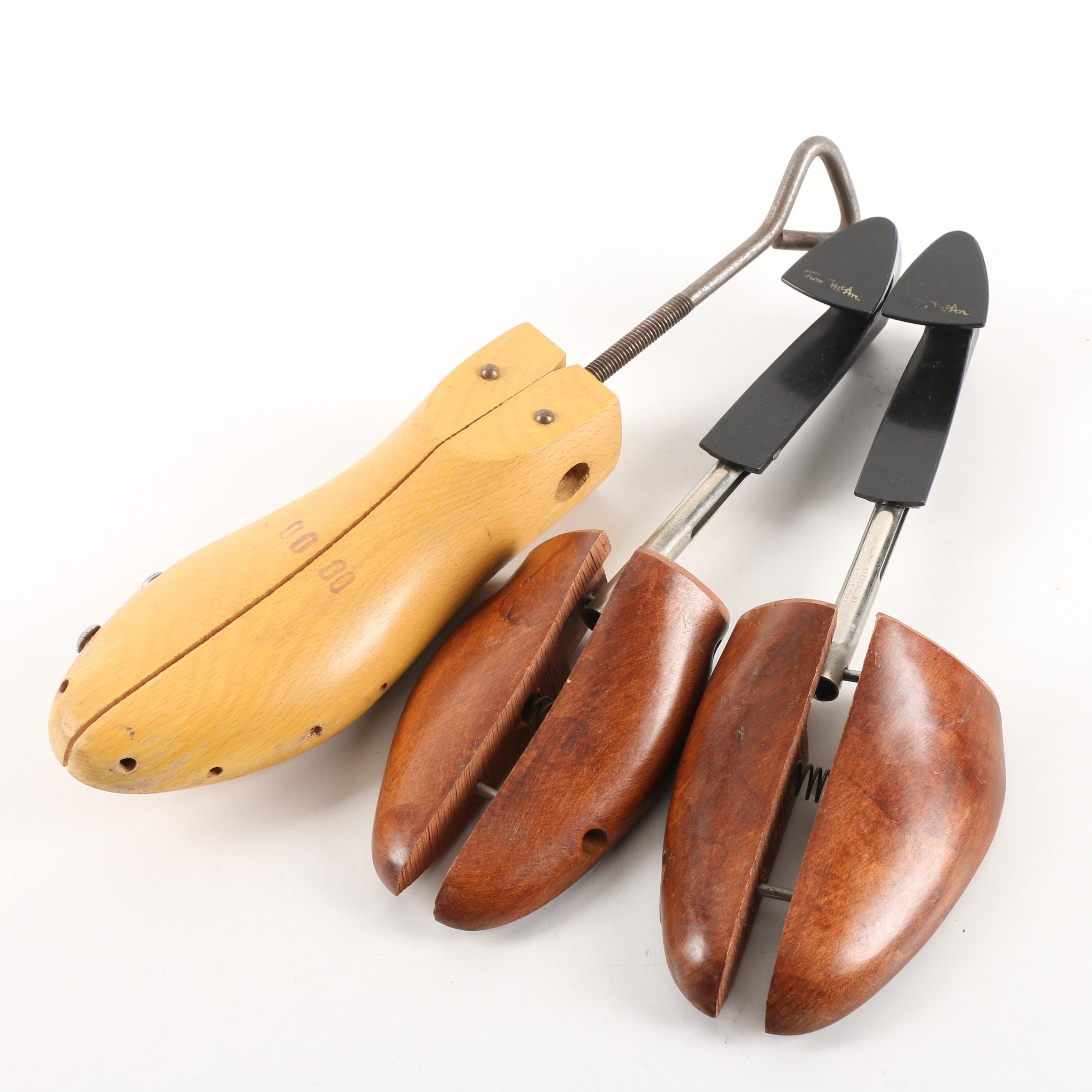 Wooden Shoe Trees
