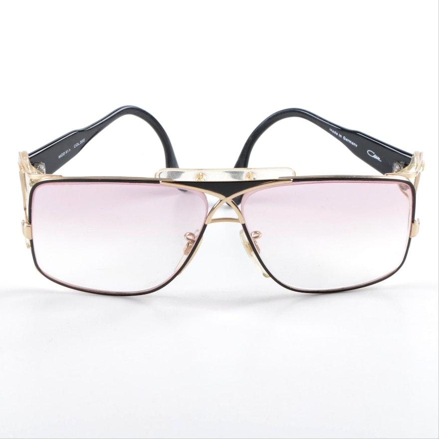 e8778bc159 1980s Vintage Cazal Black Sunglasses
