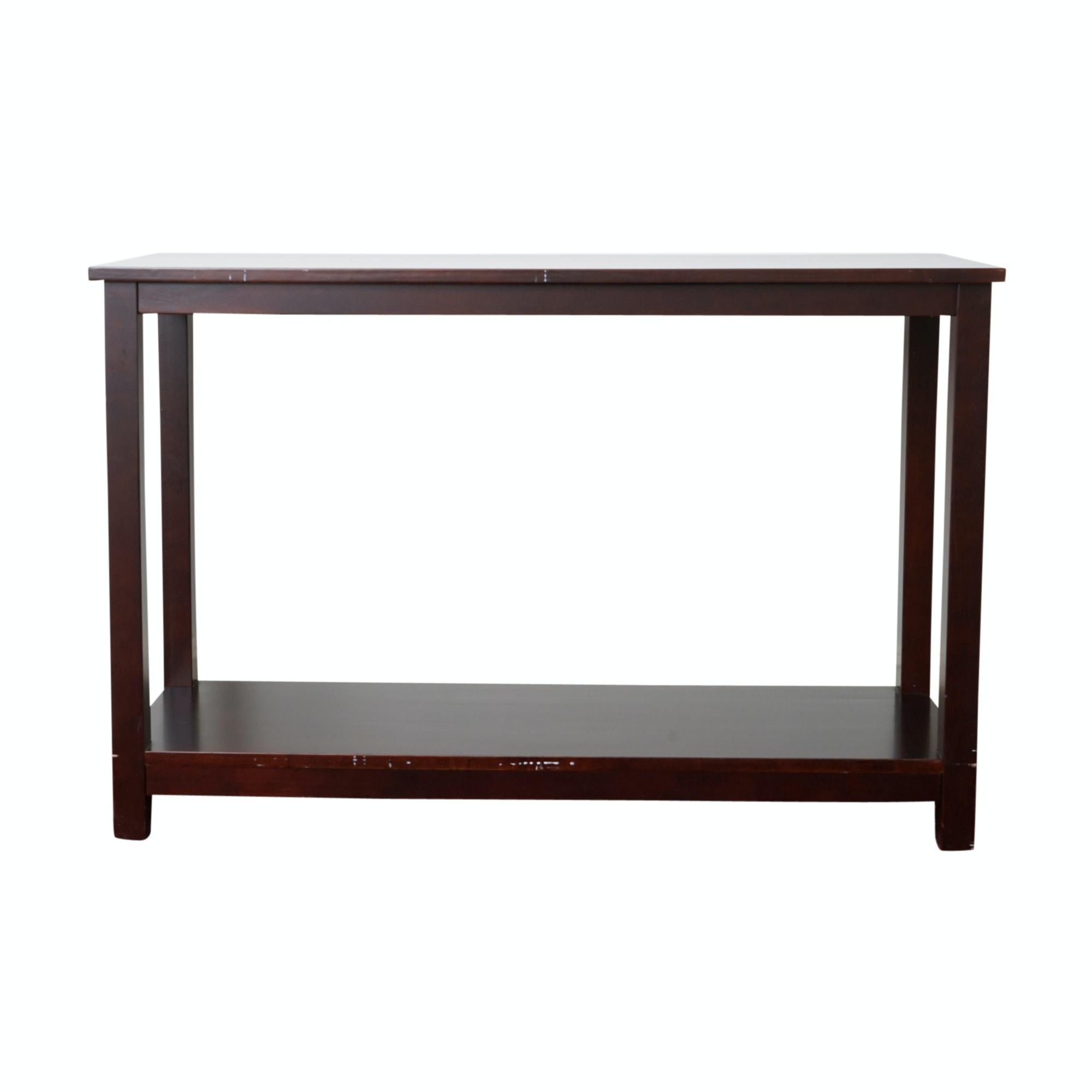 Contemporary Parsons Style Console Table