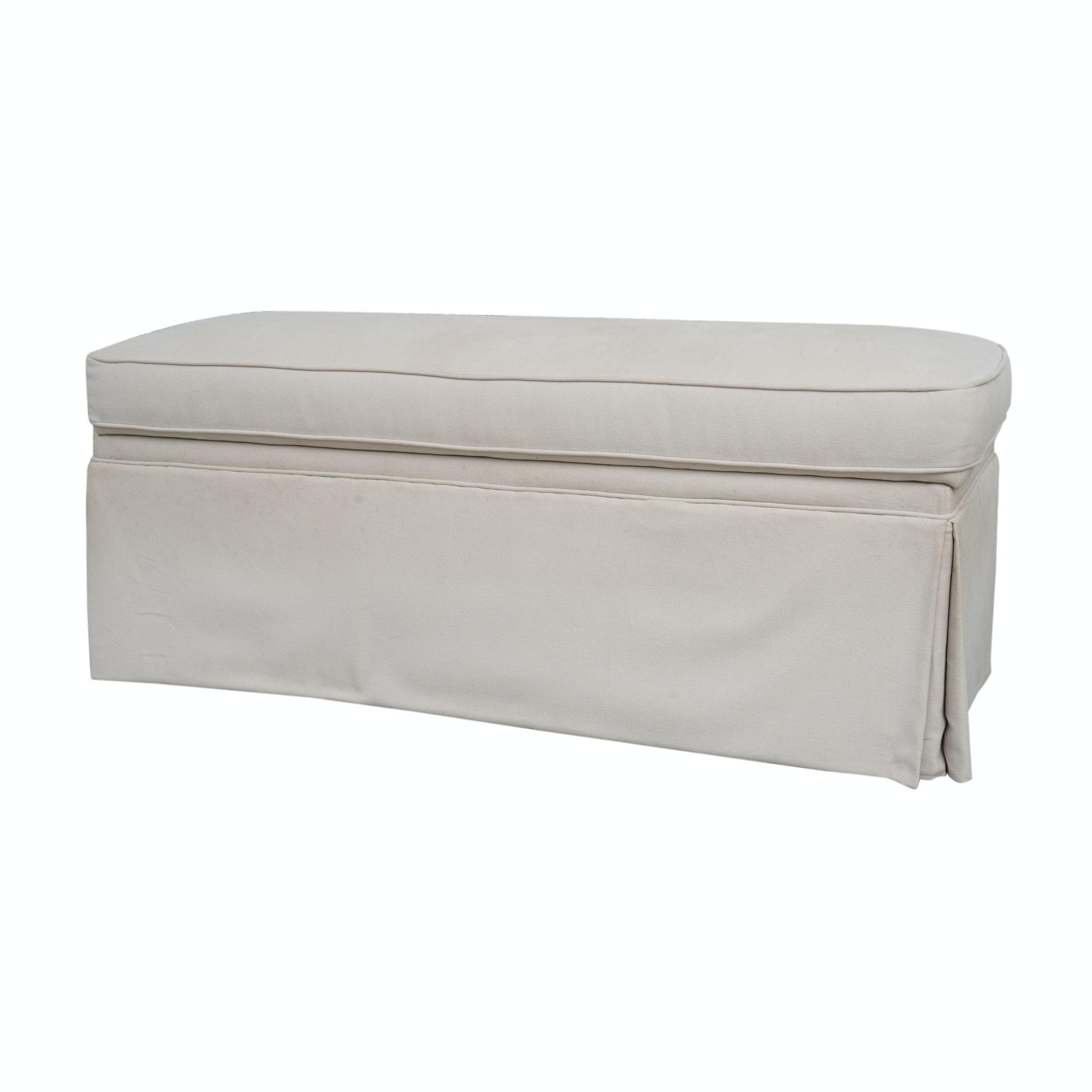 Upholstered Storage Bench by Bassett
