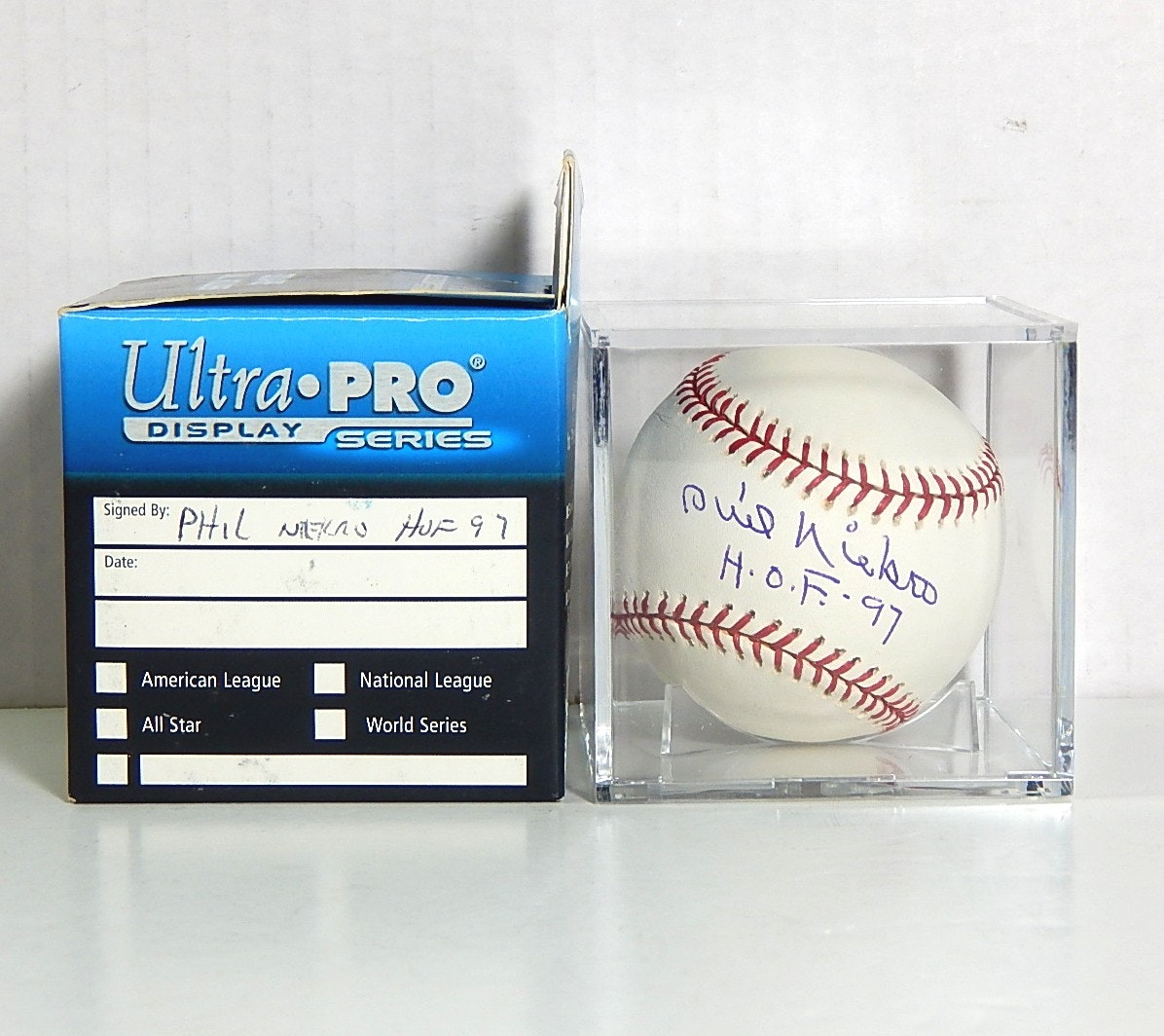 HOF Phil Niekro Signed Baseball