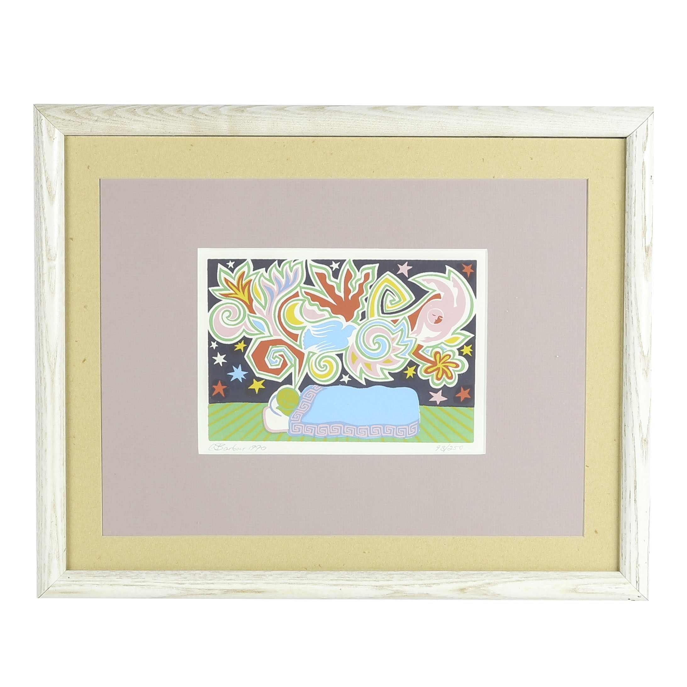 C. Barbour Limited Edition Serigraph on Paper