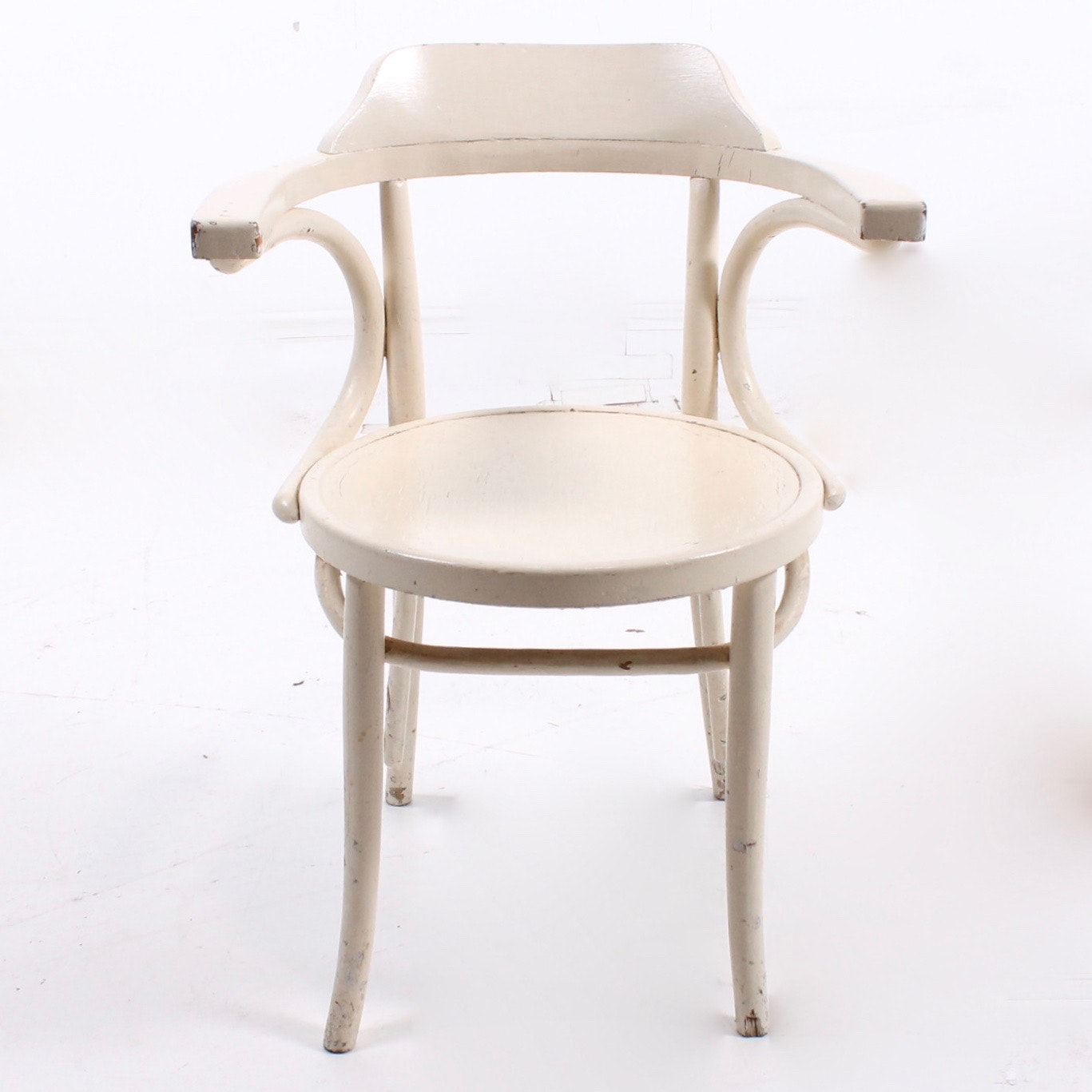 Early 20th Century Painted Bentwood Chair