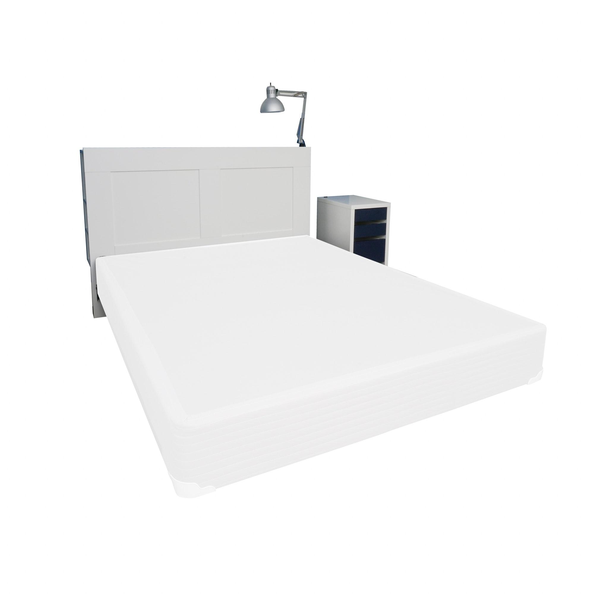 Queen Storage Headboard and Nightstand by IKEA