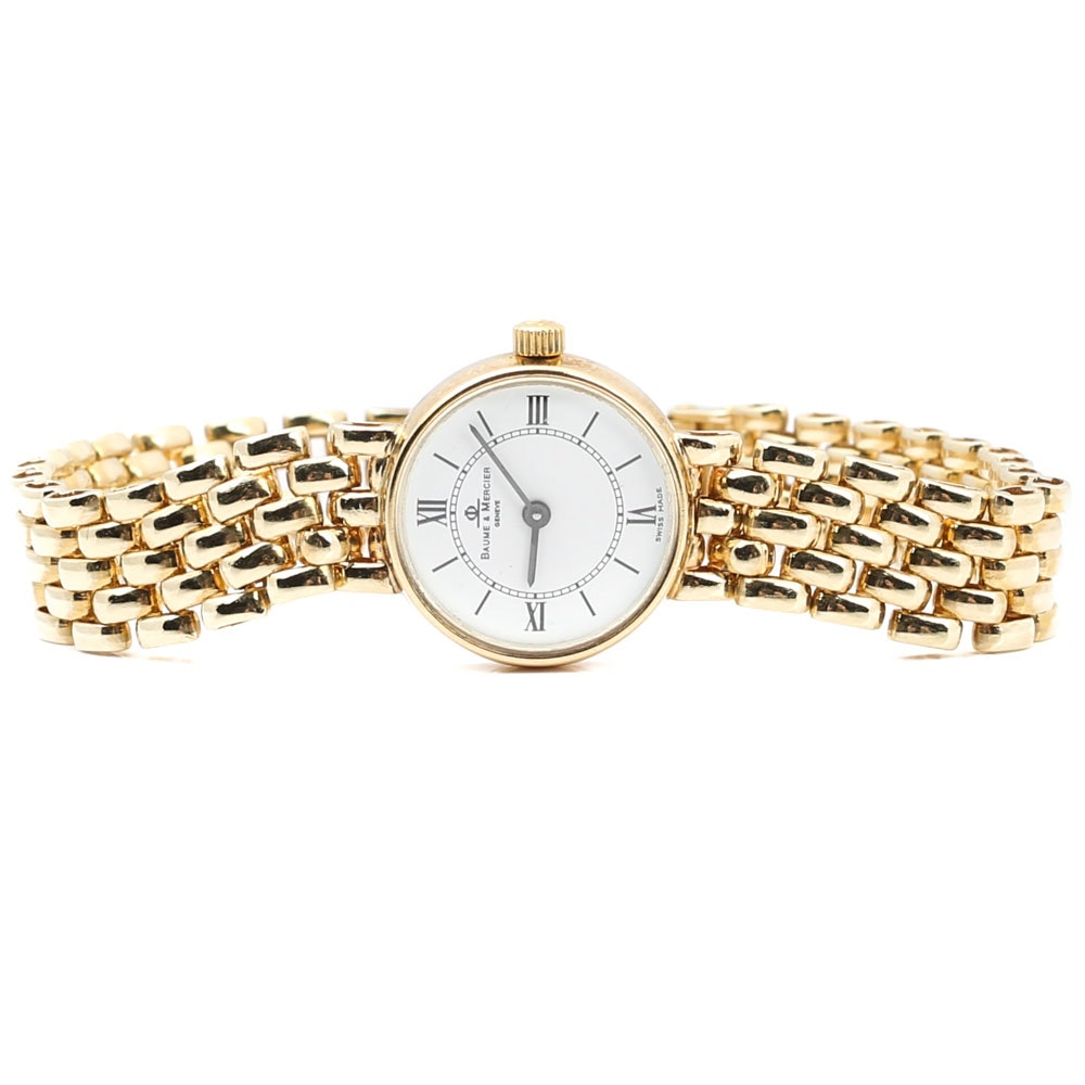 14K Yellow Gold Baume & Mercier Wristwatch