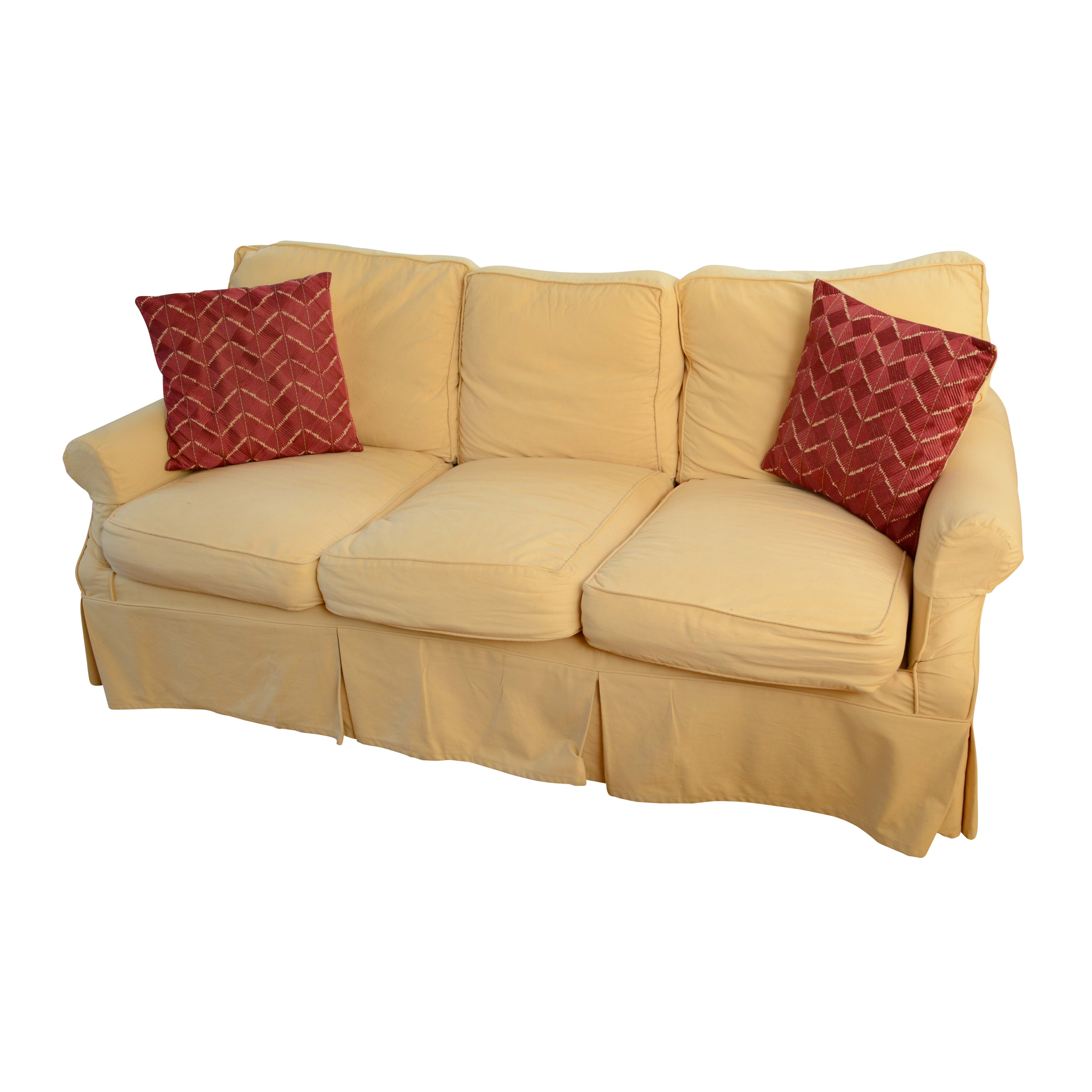 Slip-Covered Sofa by Laura Ashley Home