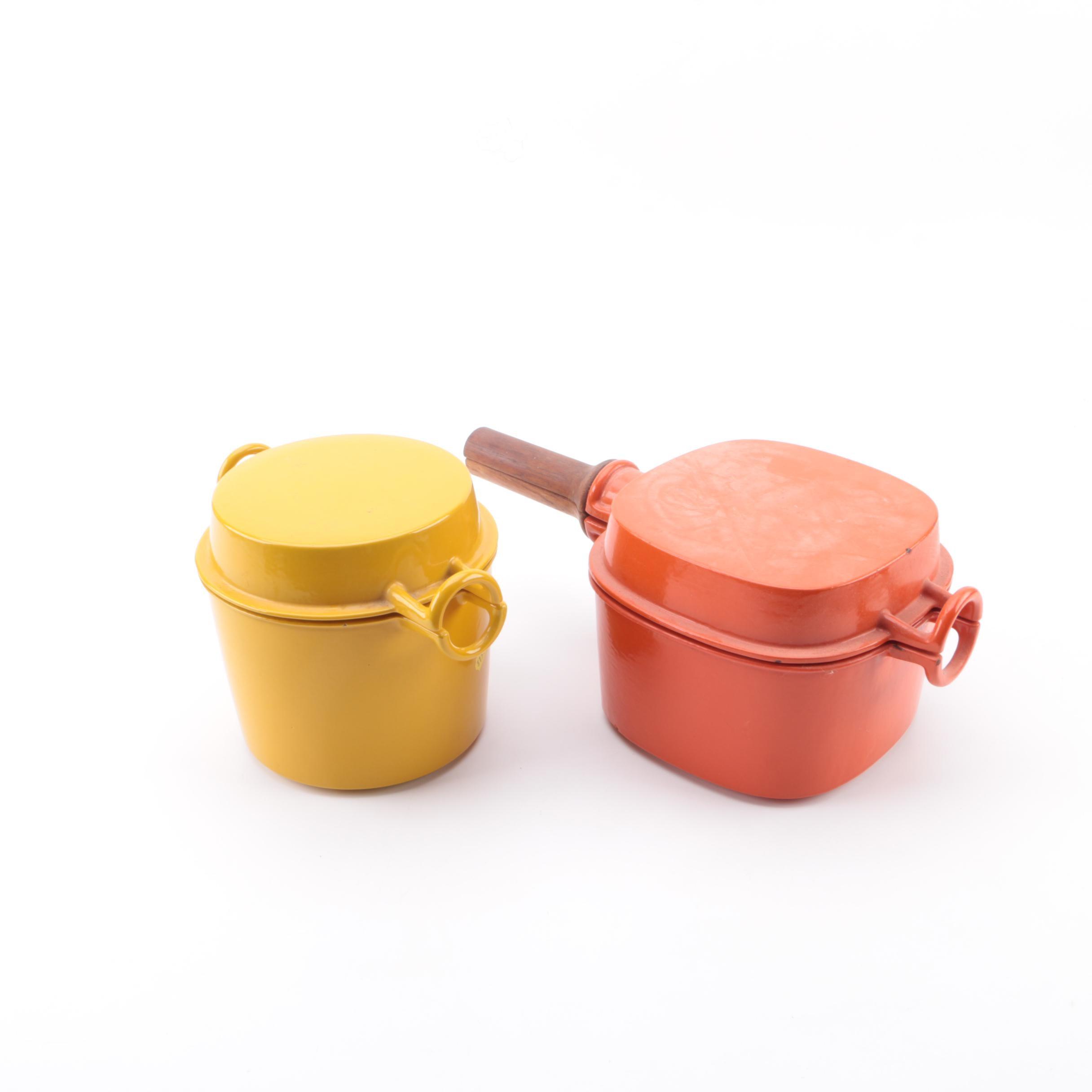 Vintage Dansk Orecast Enameled Cookware, 1970s