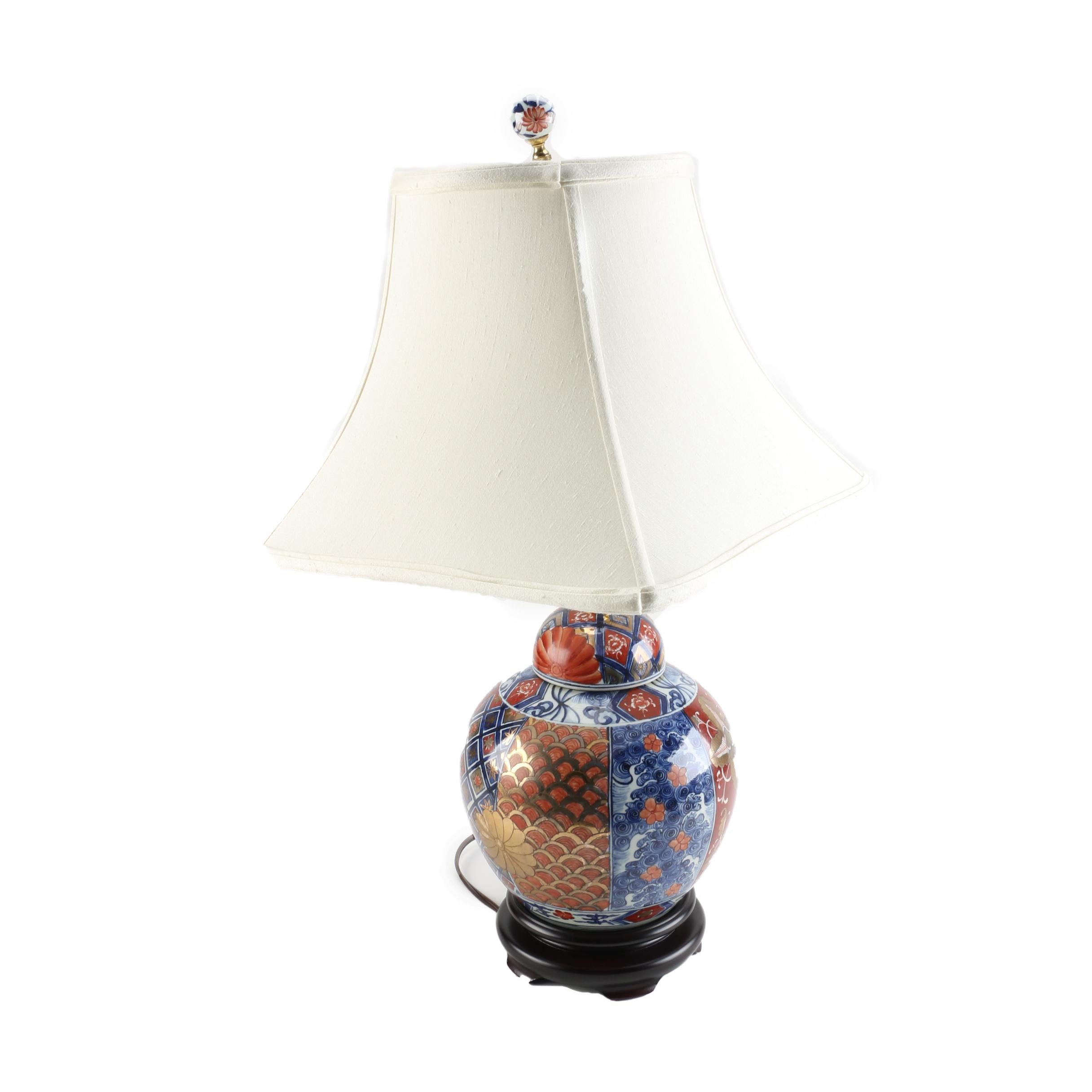 Imari Ceramic Table Lamp