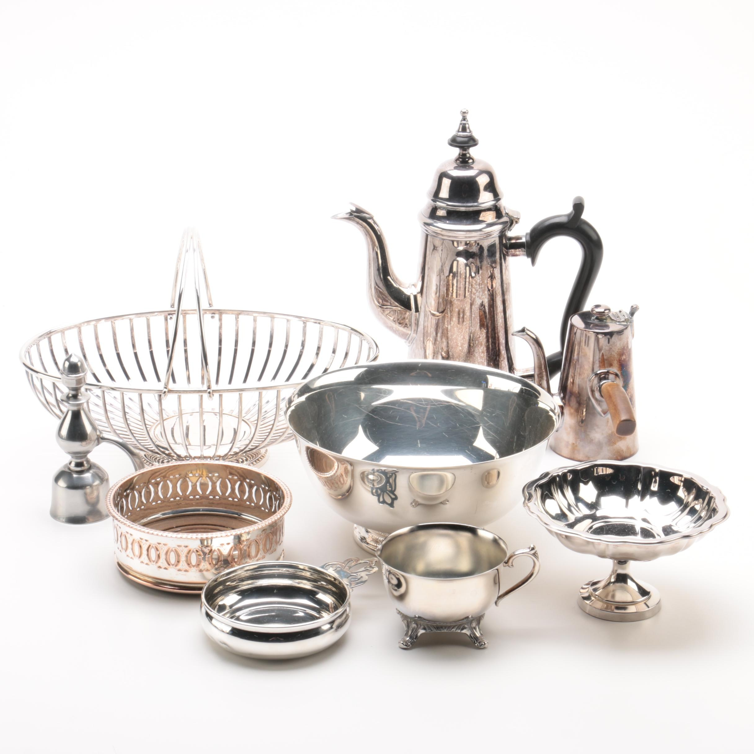Silver Plate Serveware Featuring Oneida, Reed & Barton, and Lunt