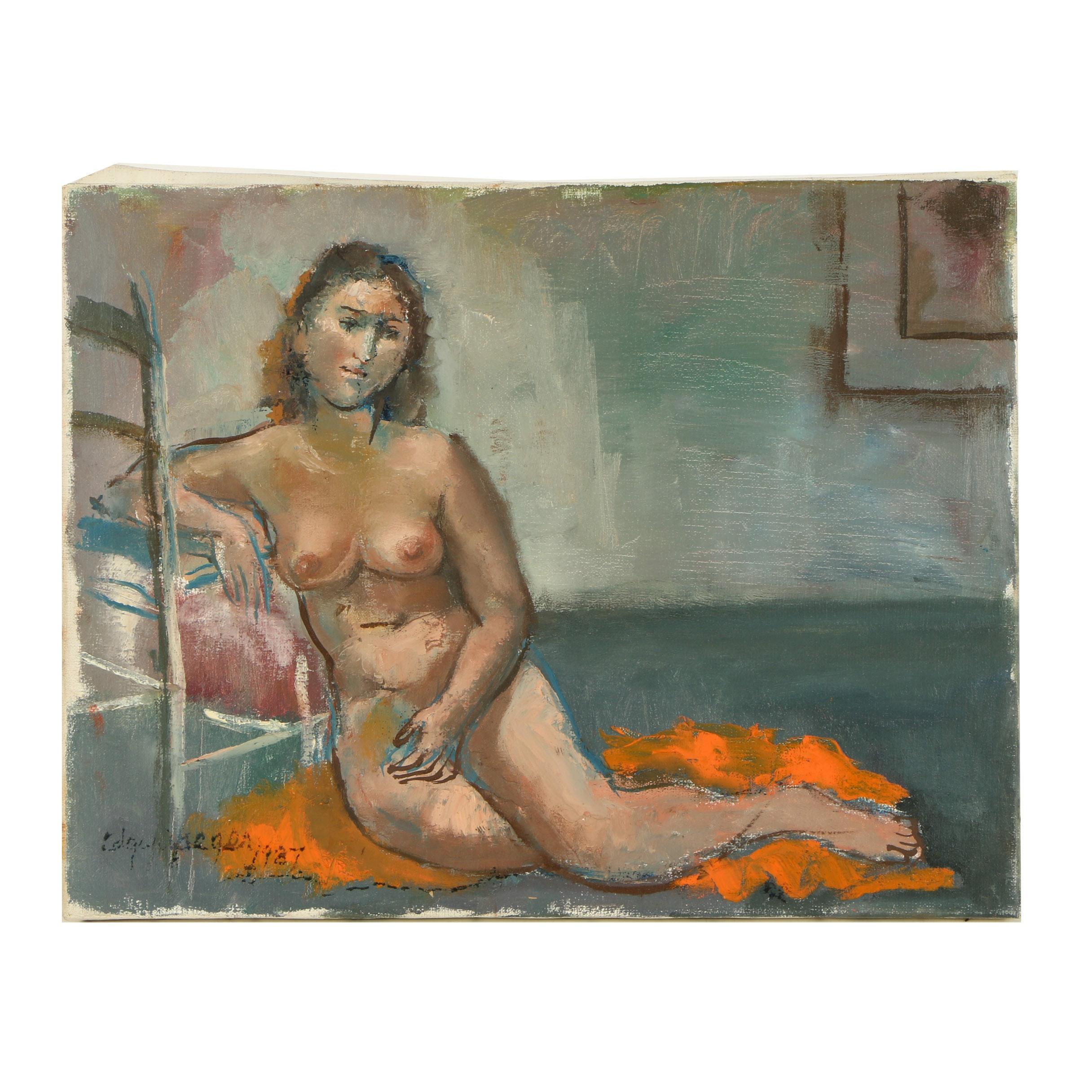 Edgar Yaeger Oil Painting