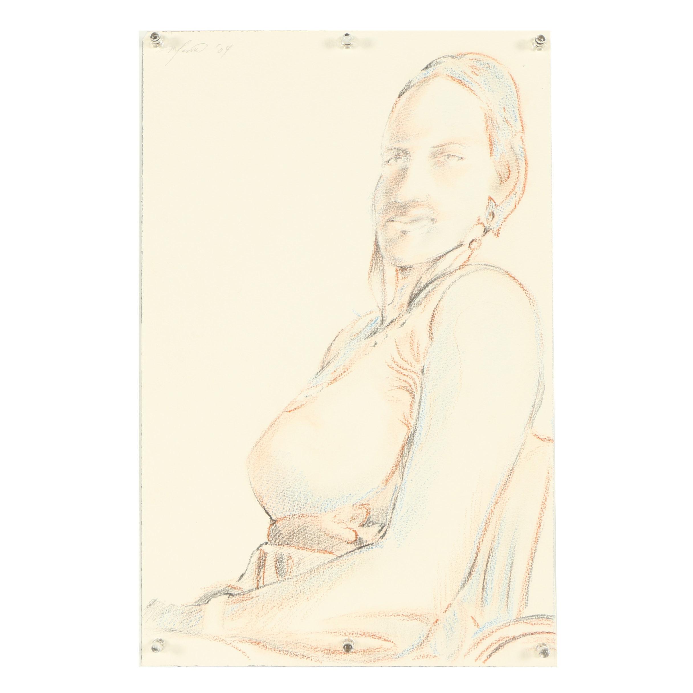 Ricardo Morin Mixed Media Drawing