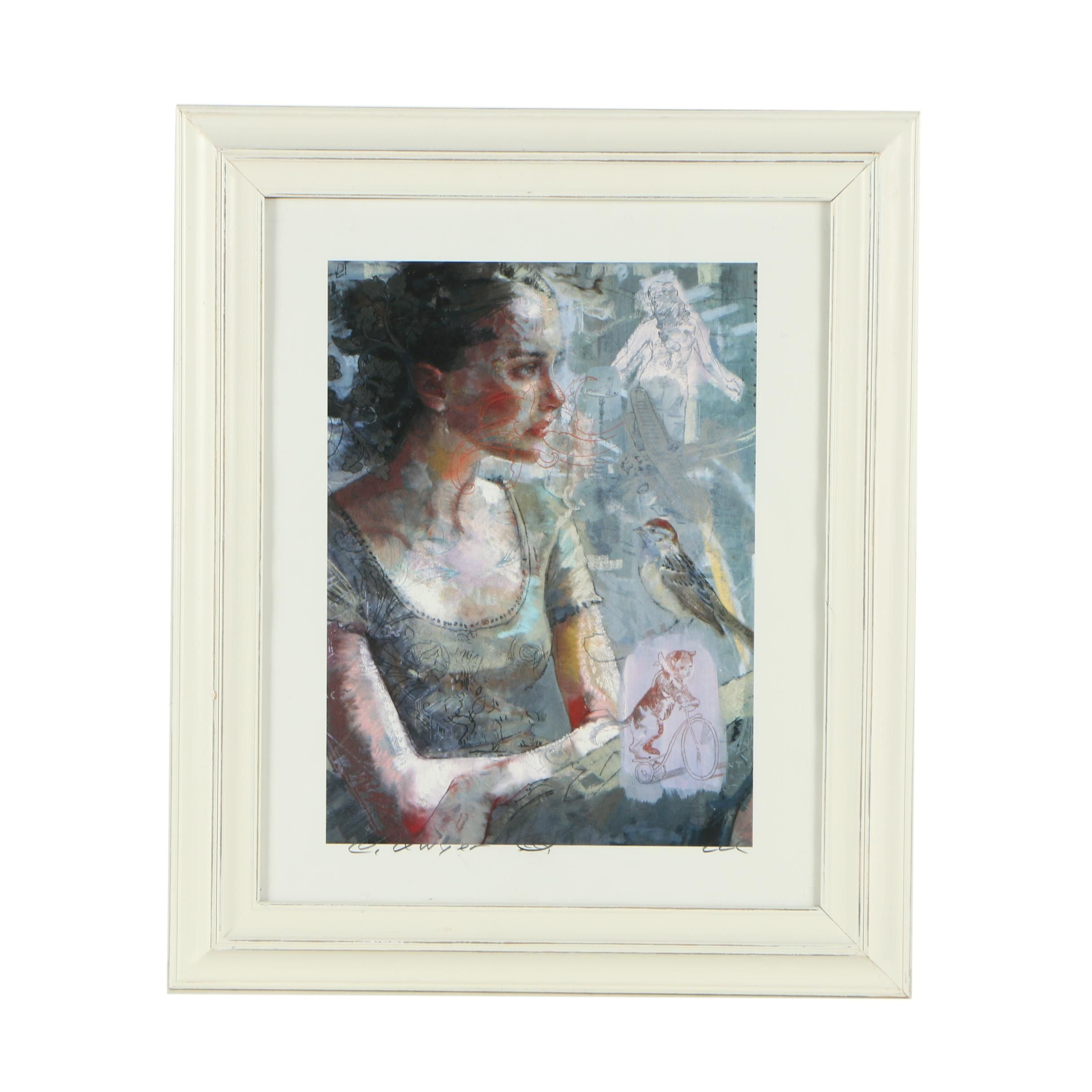 Giclée Reproduction Print After Charles Dwyer