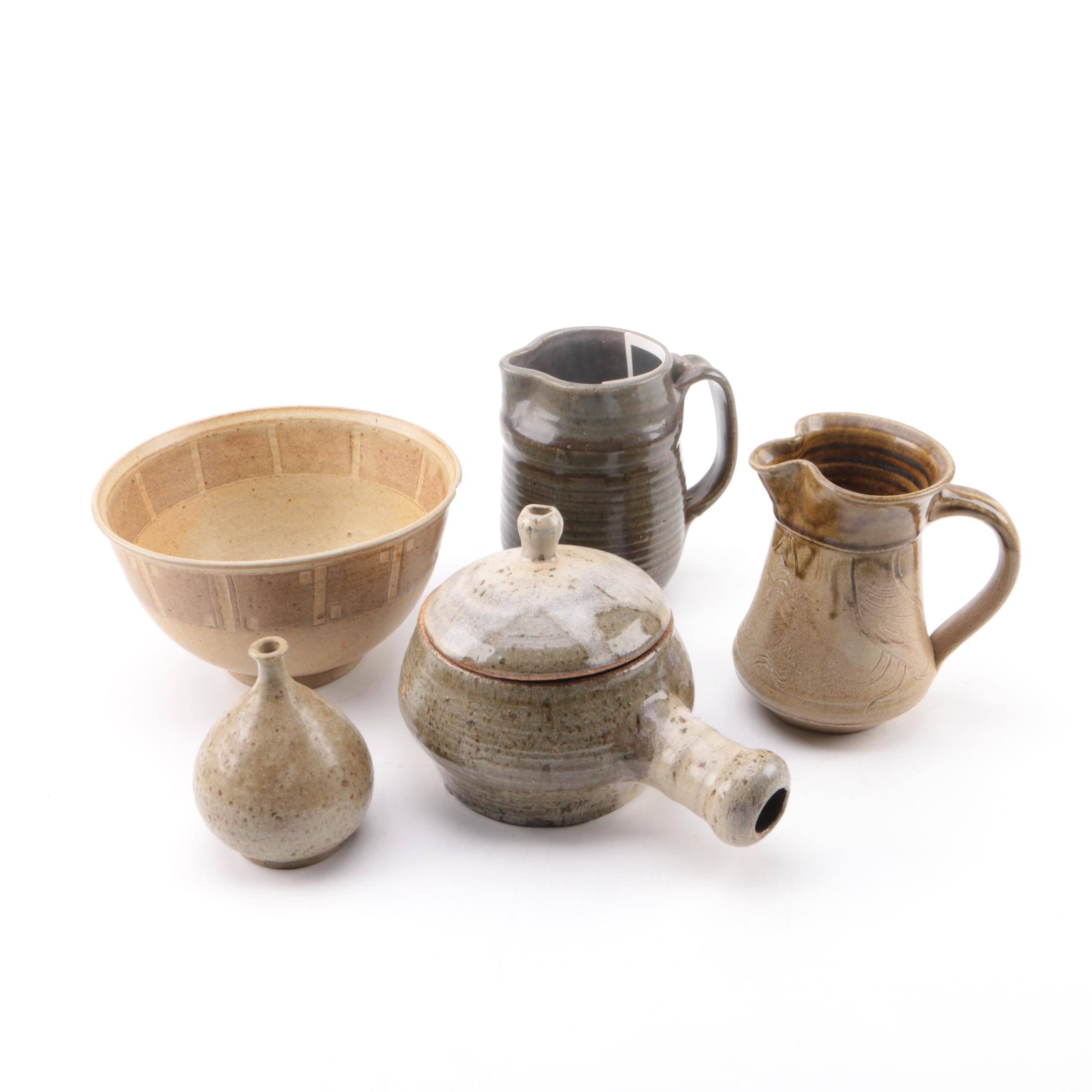 Studio Art Pottery, Including Mary George Kronstadt