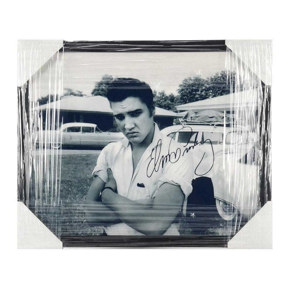 Elvis Presley Contemporary Framed Photo Print