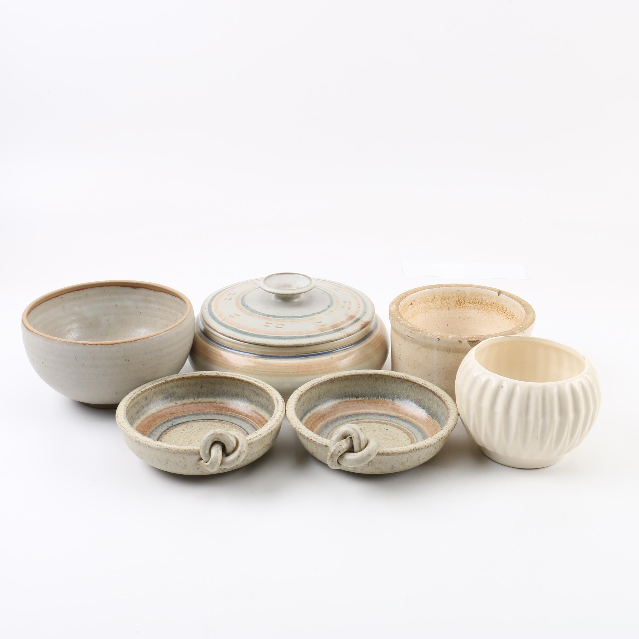American Art Pottery Bowls and Vessels