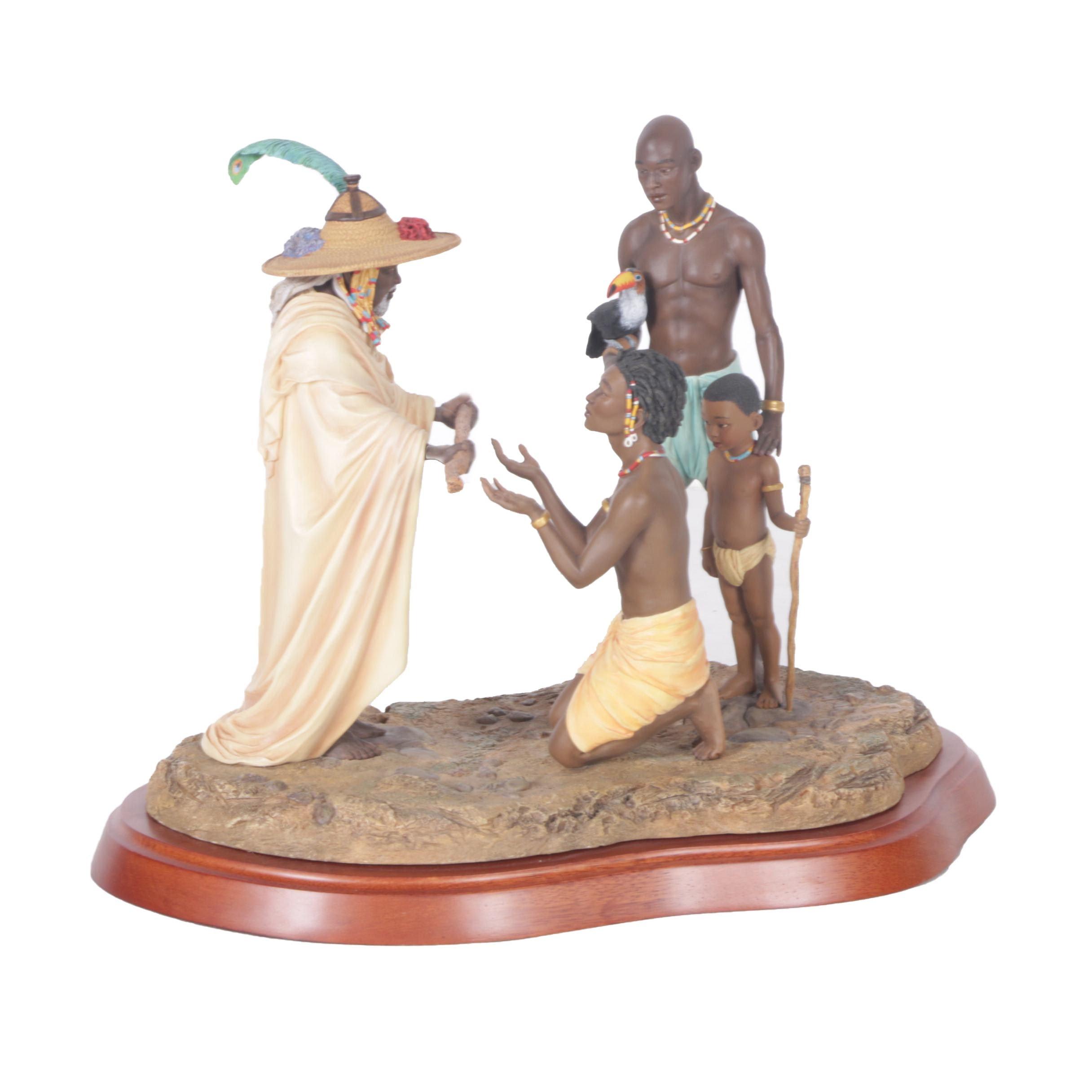"Thomas Blackshear's Ebony Visions ""Rite of Passage"" Figurine"