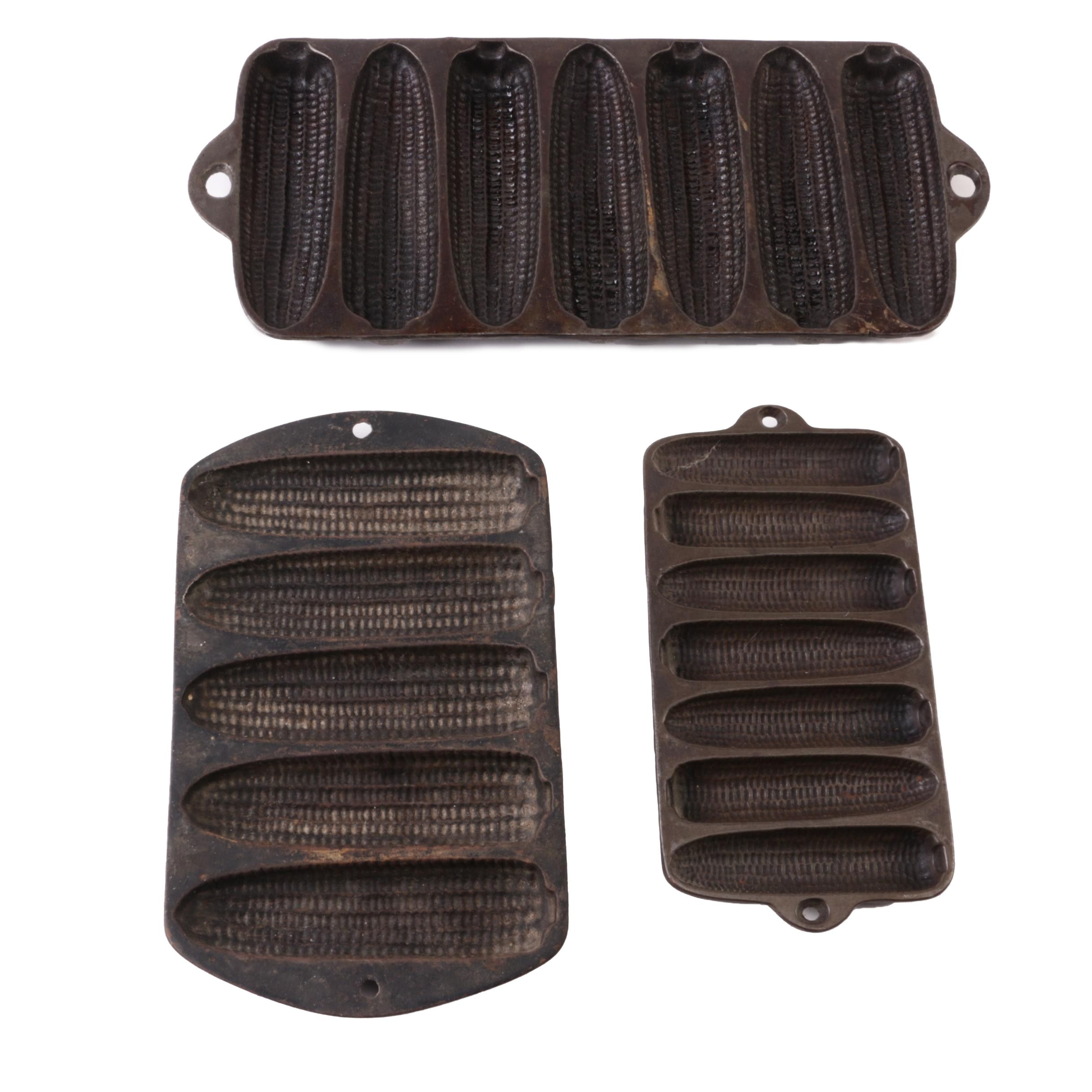 Vintage Cast Iron Corn Bread Molds