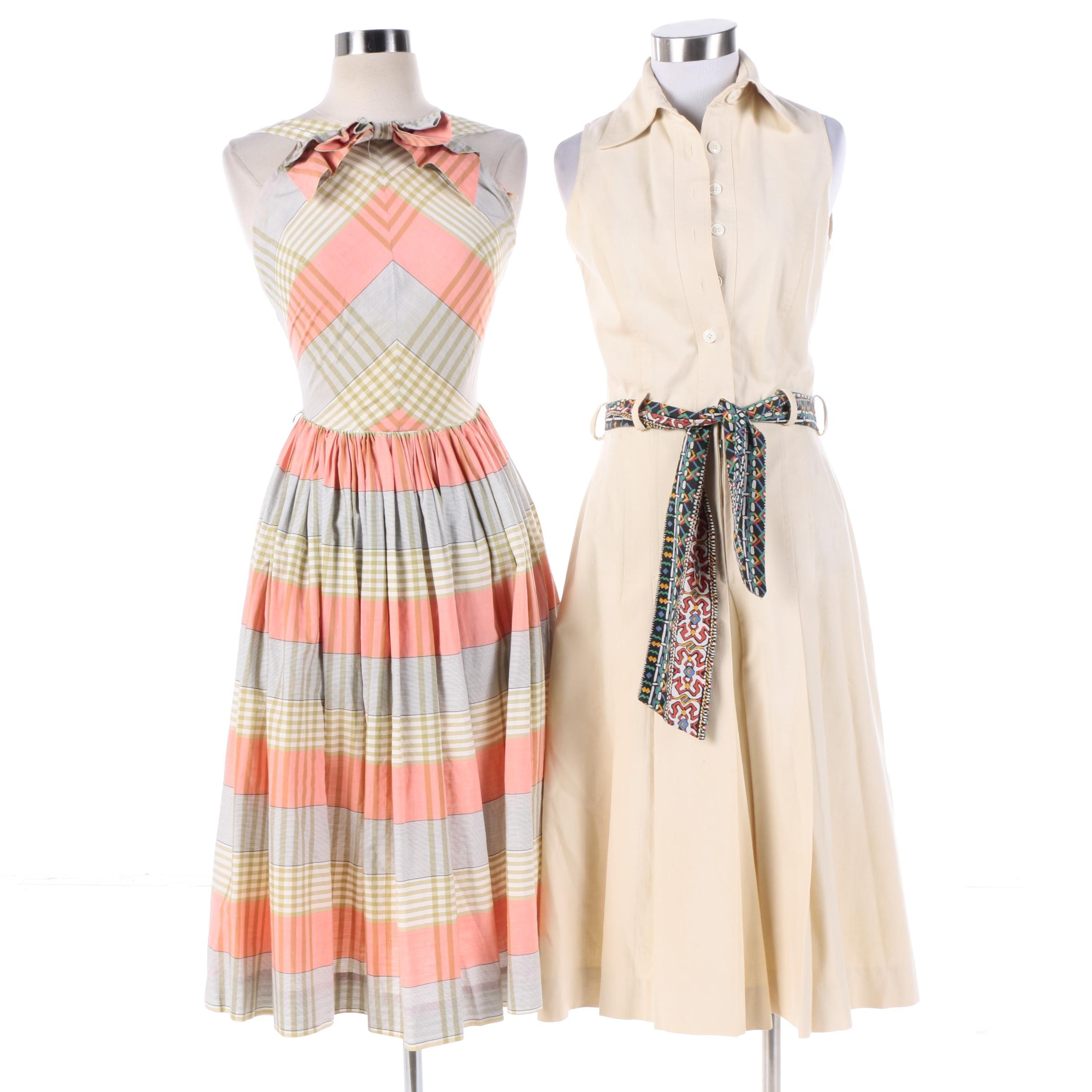 1950s Vintage Bill Haire for Friedricks Jumpsuit and Jo Collins Sun Dress