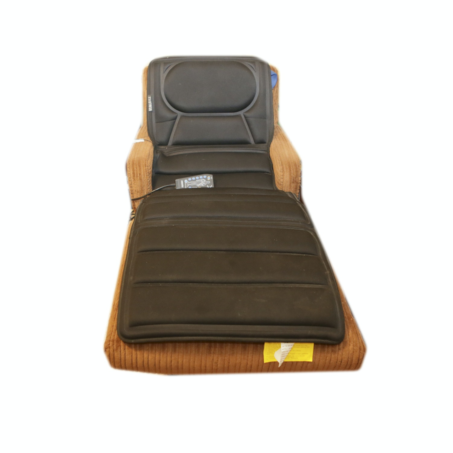 """Mid Century """"Contour"""" Style Chaise Lounge with Conforming Massage Pad"""