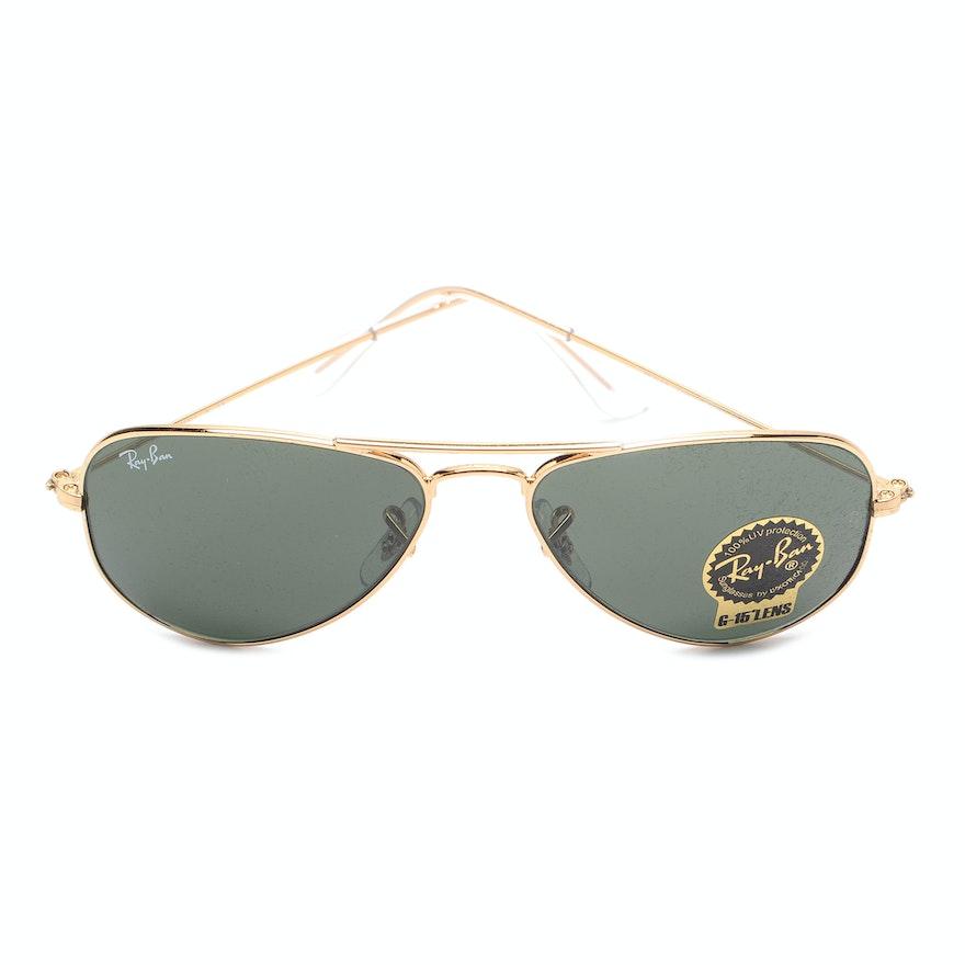 b5af0a7f4f Ray-Ban Small Aviator Sunglasses   EBTH