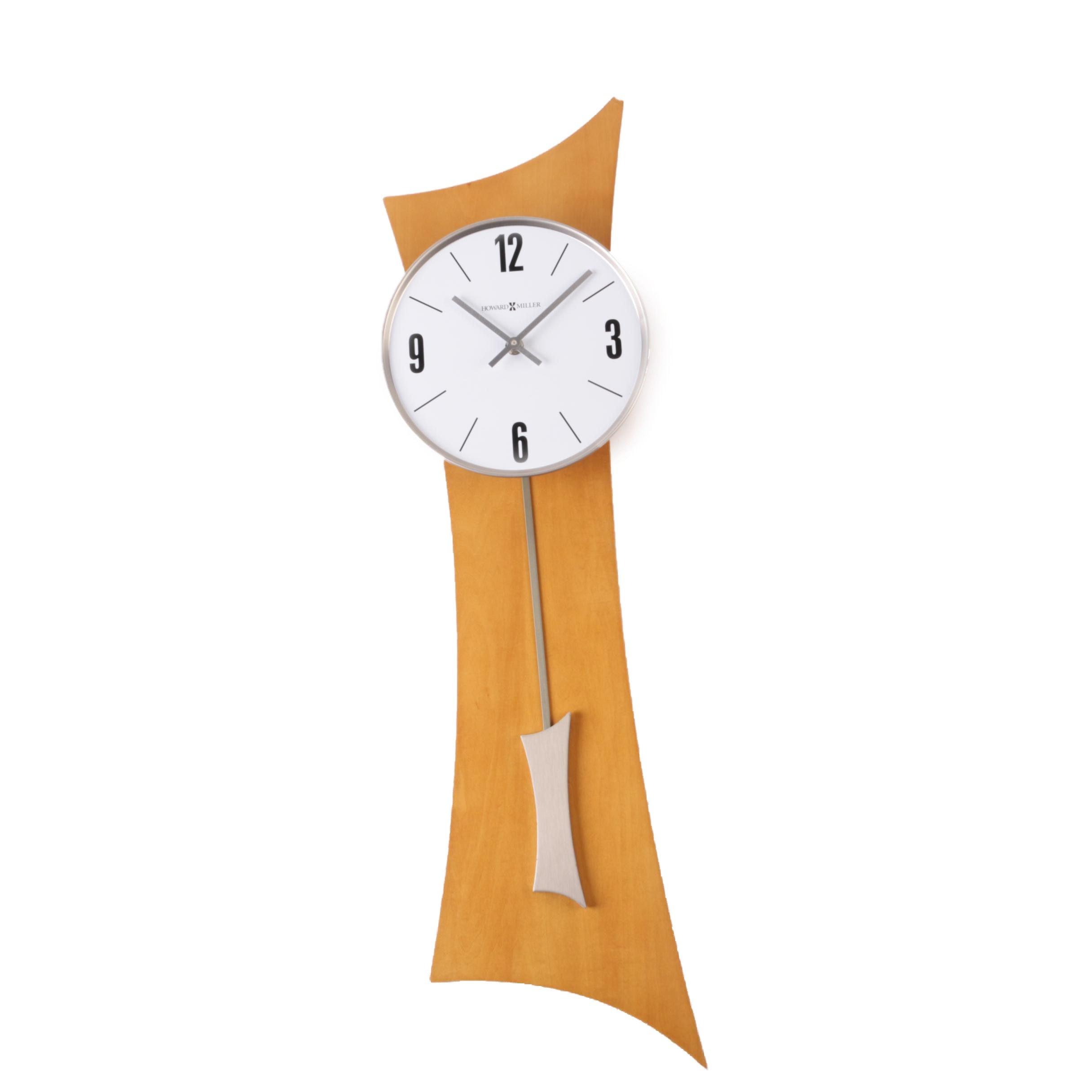 "Howard Miller ""Barlow"" Contemporary Style Wall Clock"