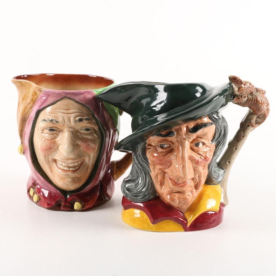 dating royal doulton character jugs