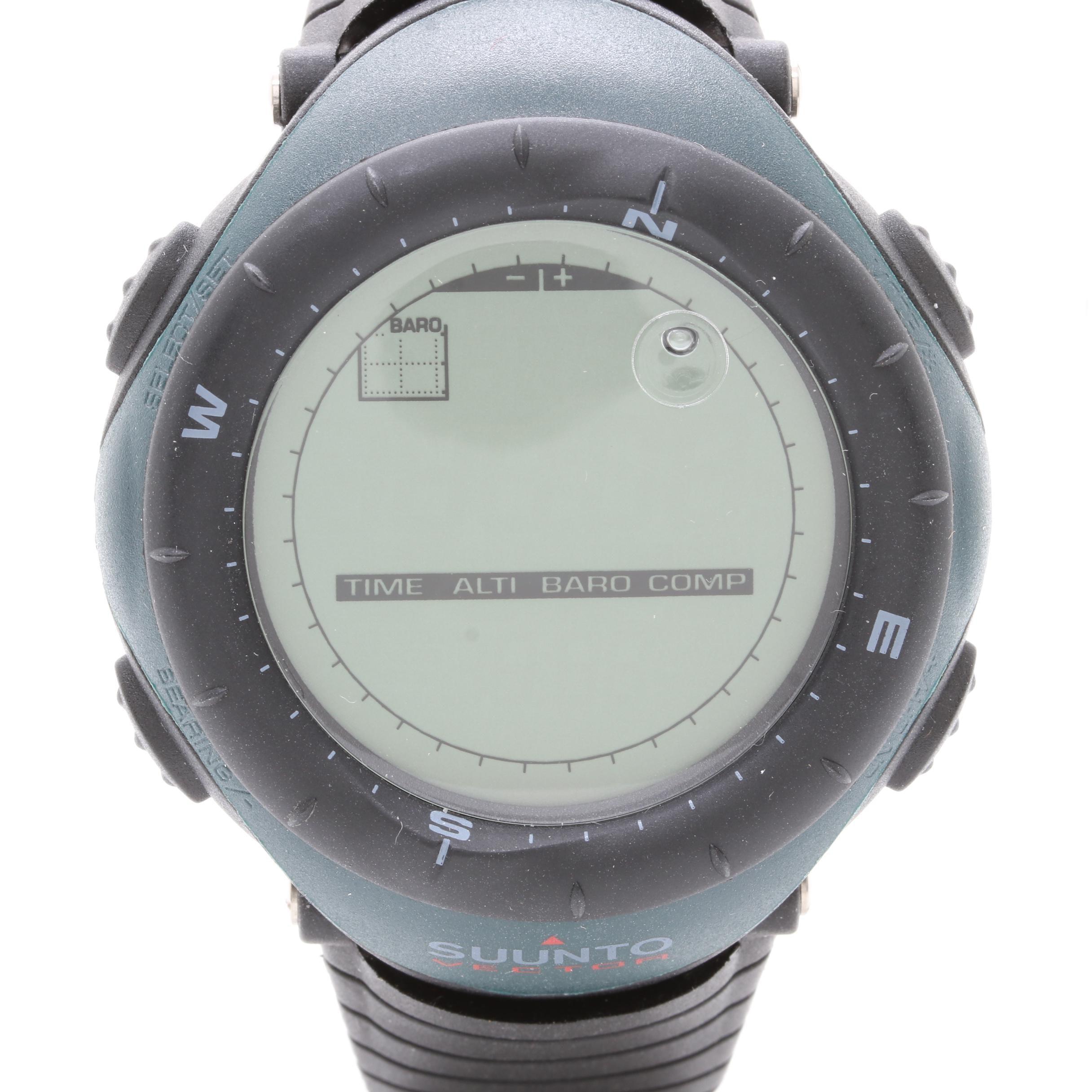 Suunto Vector Wristop Computer Wristwatch with Box